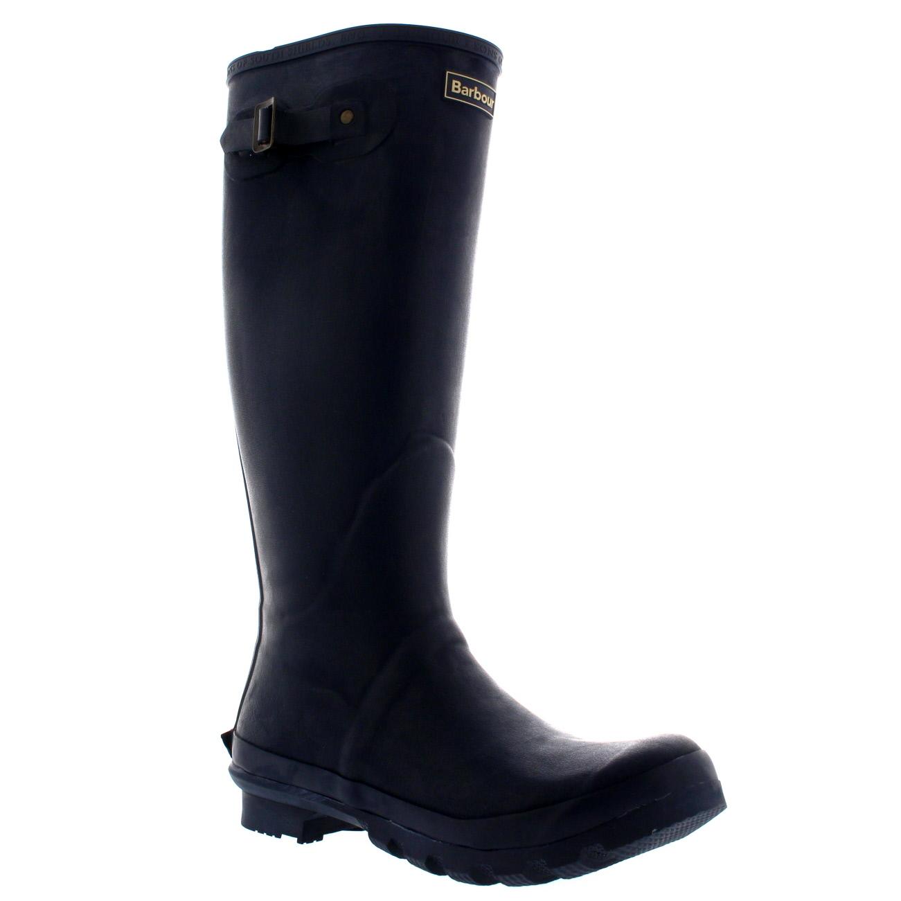 071296b7 Mens Barbour Bede Winter Mid Calf Snow Waterproof Rain Wellington Boots US 7 -14