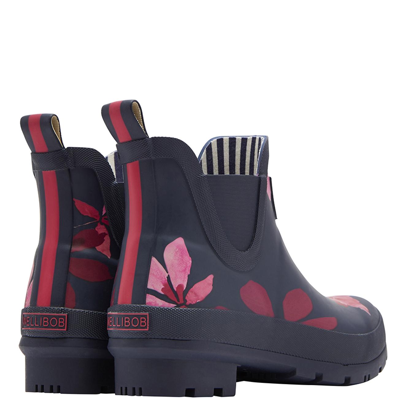 Para mujer Julios wellibobs Impermeable de Wellingtons Goma tobillo botas de lluvia Wellingtons de EE. UU. 5-10 9d67d7