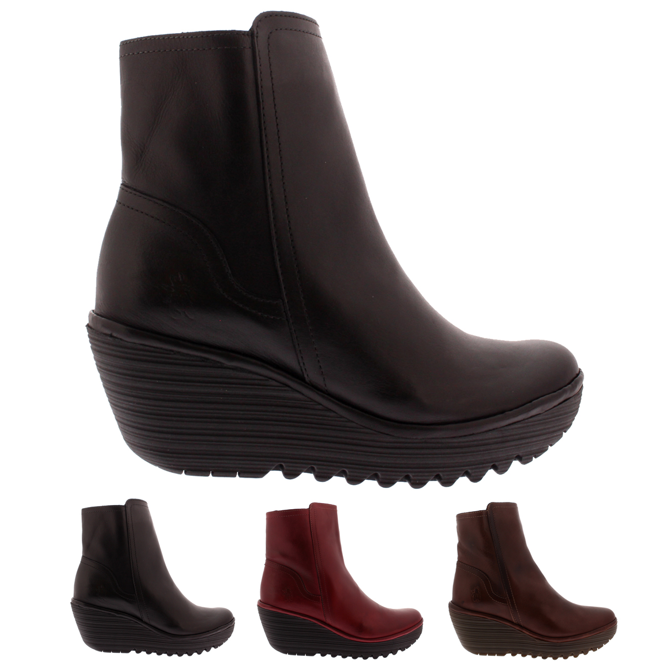 Image is loading Womens-Fly-London-Yeti-Casual-Fashion-Winter-Leather- 689510b77