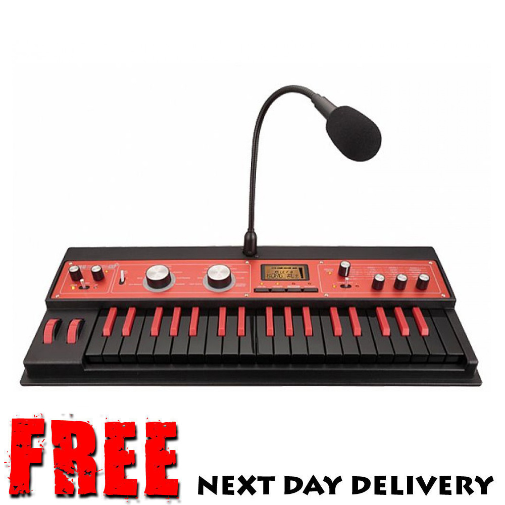 korg microkorg xl plus limited edition red synthesizer vocoder usb keyboard ebay. Black Bedroom Furniture Sets. Home Design Ideas