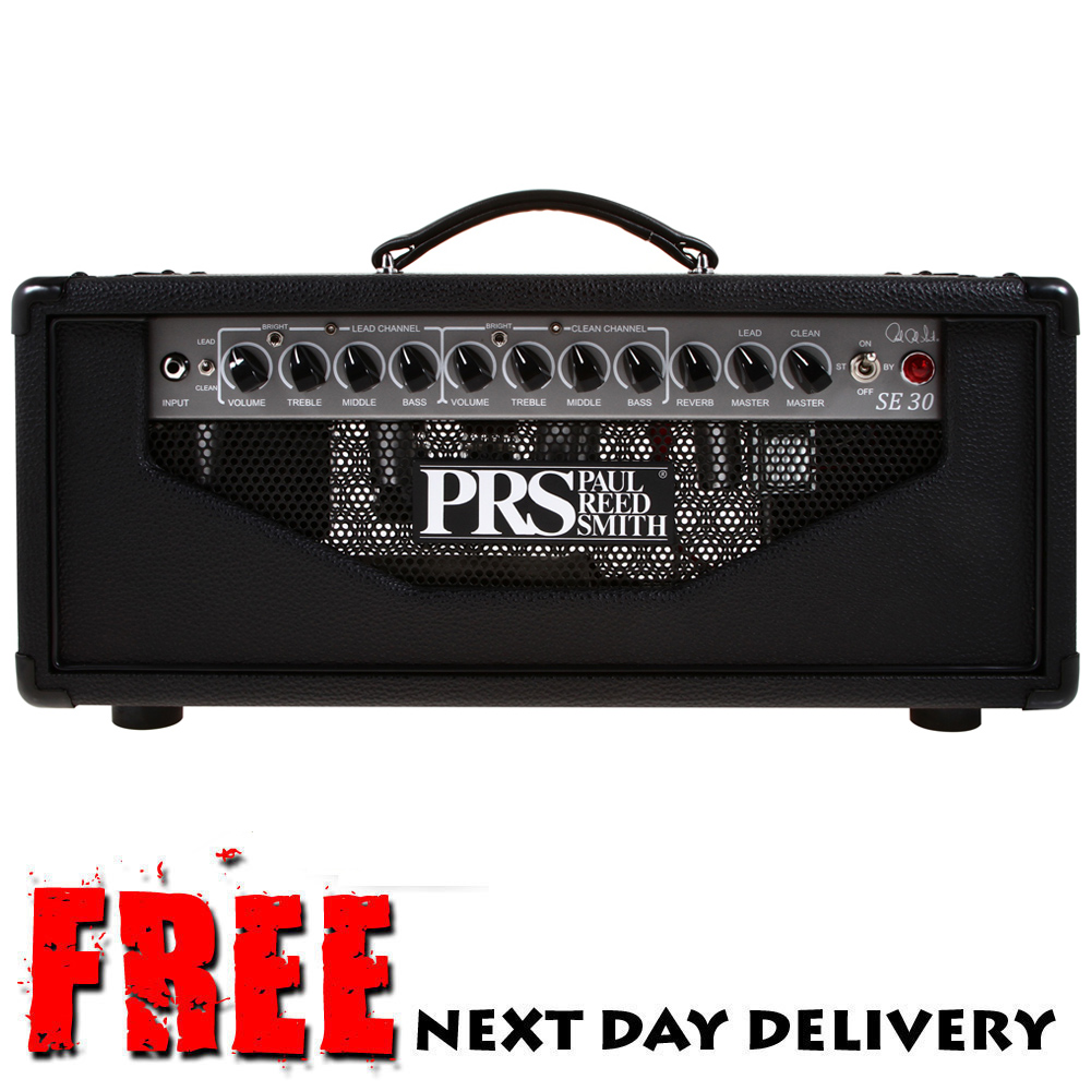 prs se 30 2 channel 30 watt valve tube guitar amplifier head amp ebay. Black Bedroom Furniture Sets. Home Design Ideas