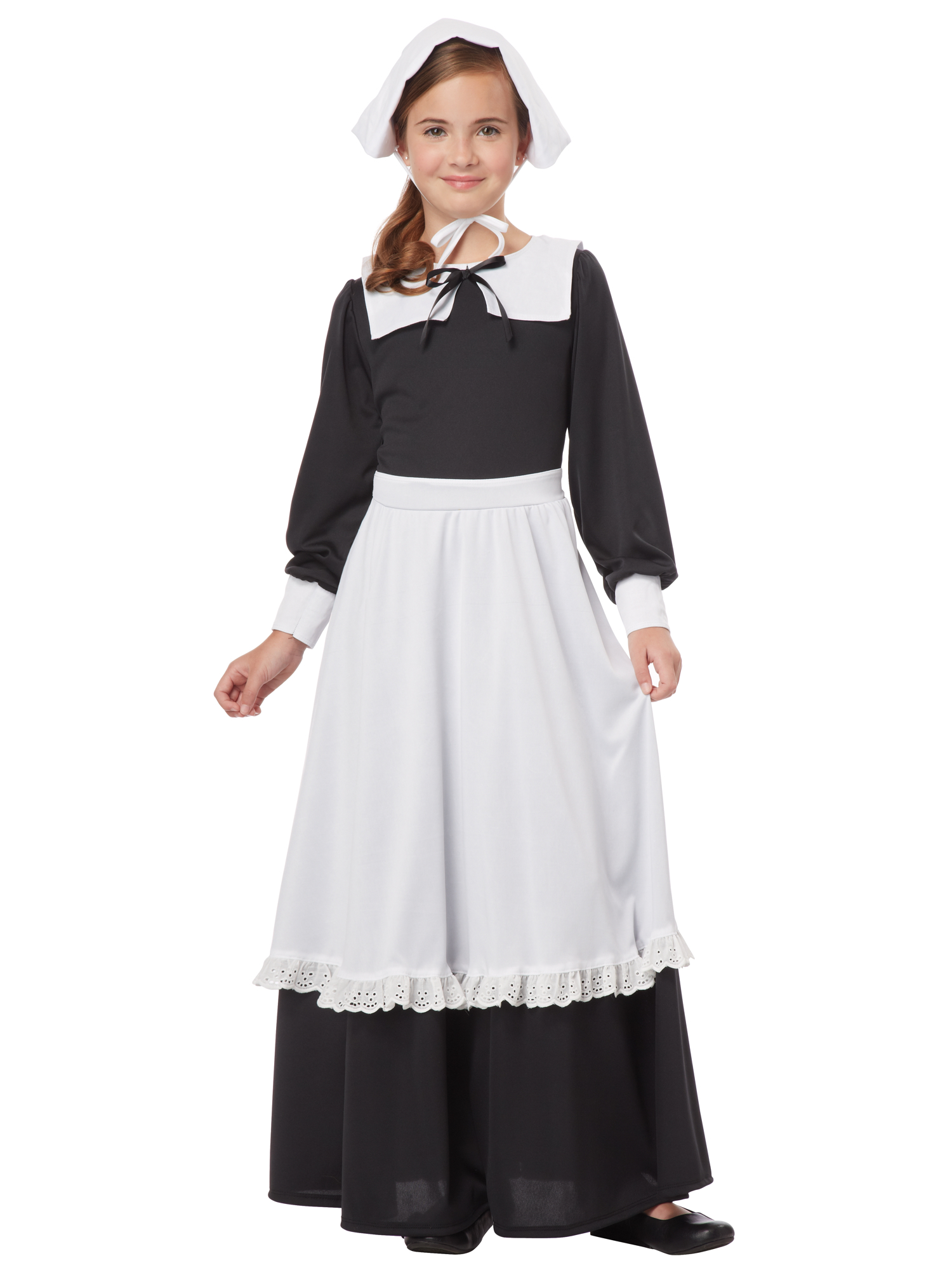 Pilgrim Thanksgiving Olden Day Colonial Victorian Book Week Girls