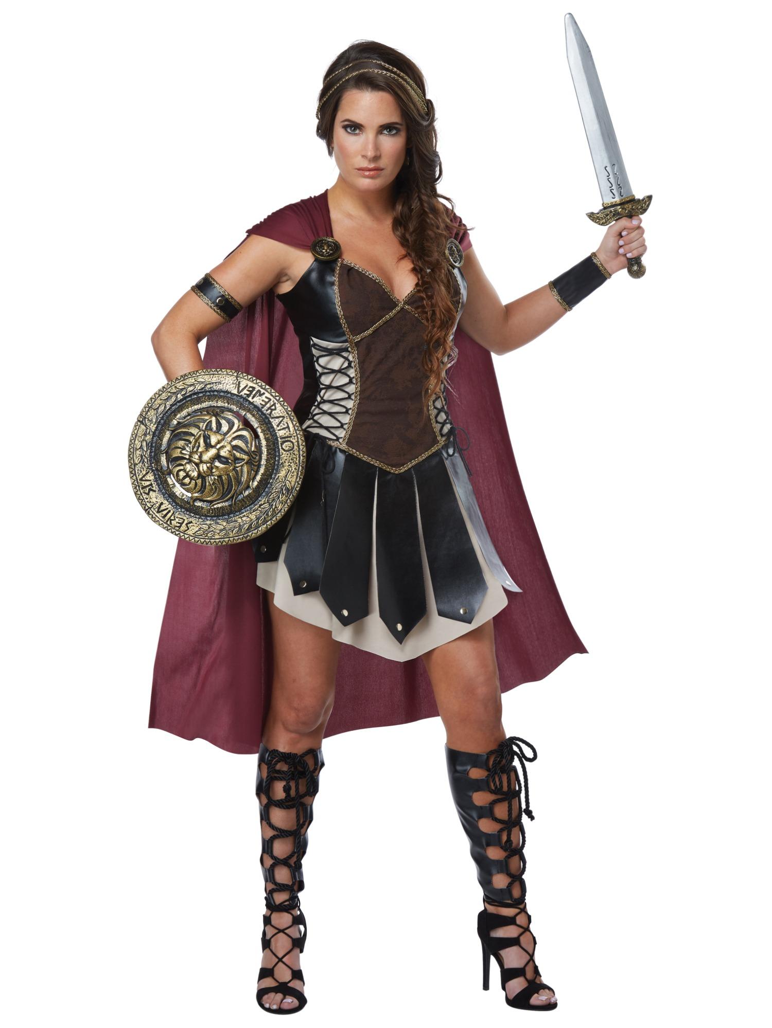 Glorious gladiator xena warrior roman spartan medieval womens glorious gladiator xena warrior roman spartan medieval womens costume m solutioingenieria Choice Image