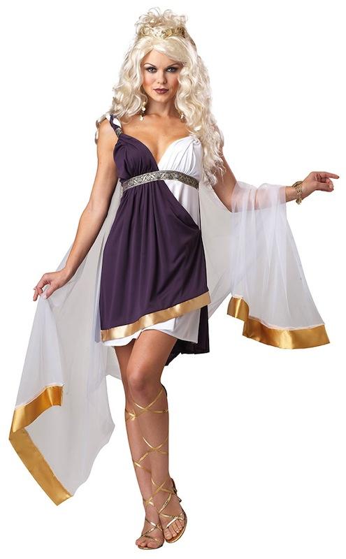 Venus Goddess of Love Greek Roman Toga Women Costume | eBay
