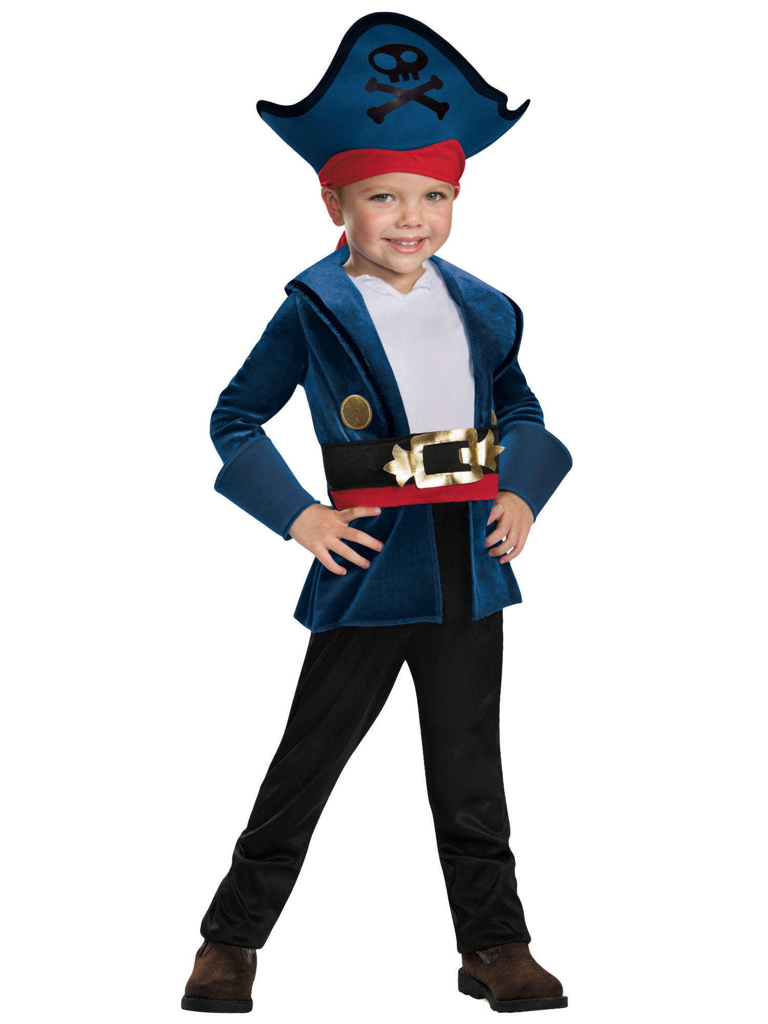 21625e97f8e0 Captain Jake And The Neverland Pirate Disney Toddler Boys Costume 3T ...