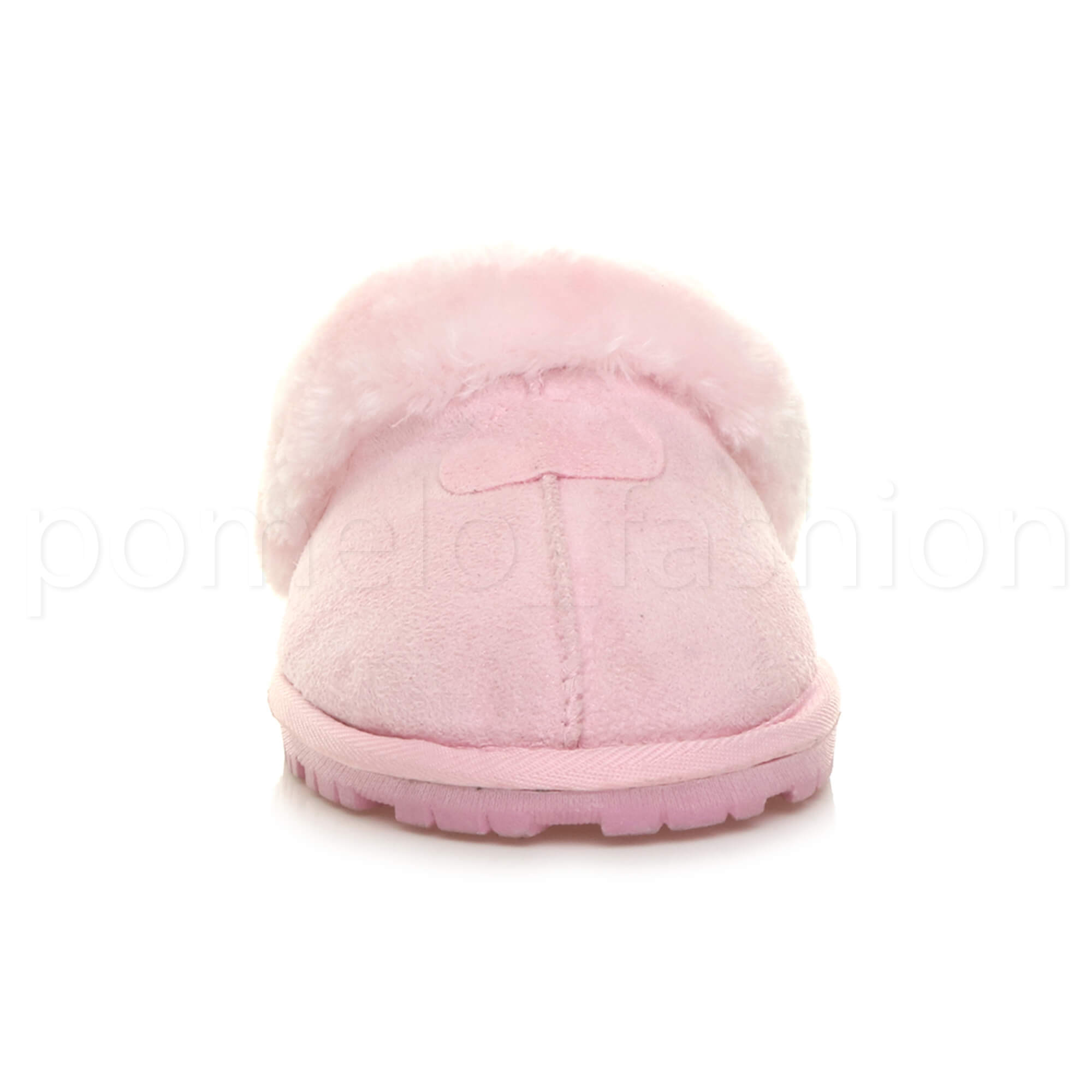 WOMENS-LADIES-FLAT-FUR-LINED-COMFORTABLE-WINTER-MULES-SLIPPERS-HOUSE-SHOES-SIZE thumbnail 70
