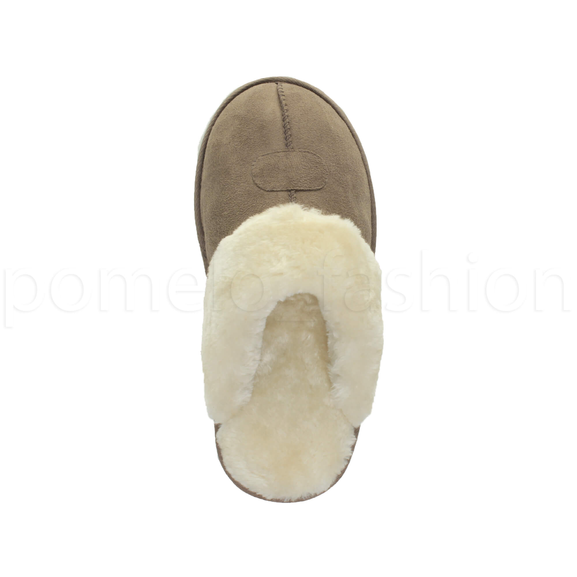 WOMENS-LADIES-FLAT-FUR-LINED-COMFORTABLE-WINTER-MULES-SLIPPERS-HOUSE-SHOES-SIZE thumbnail 55