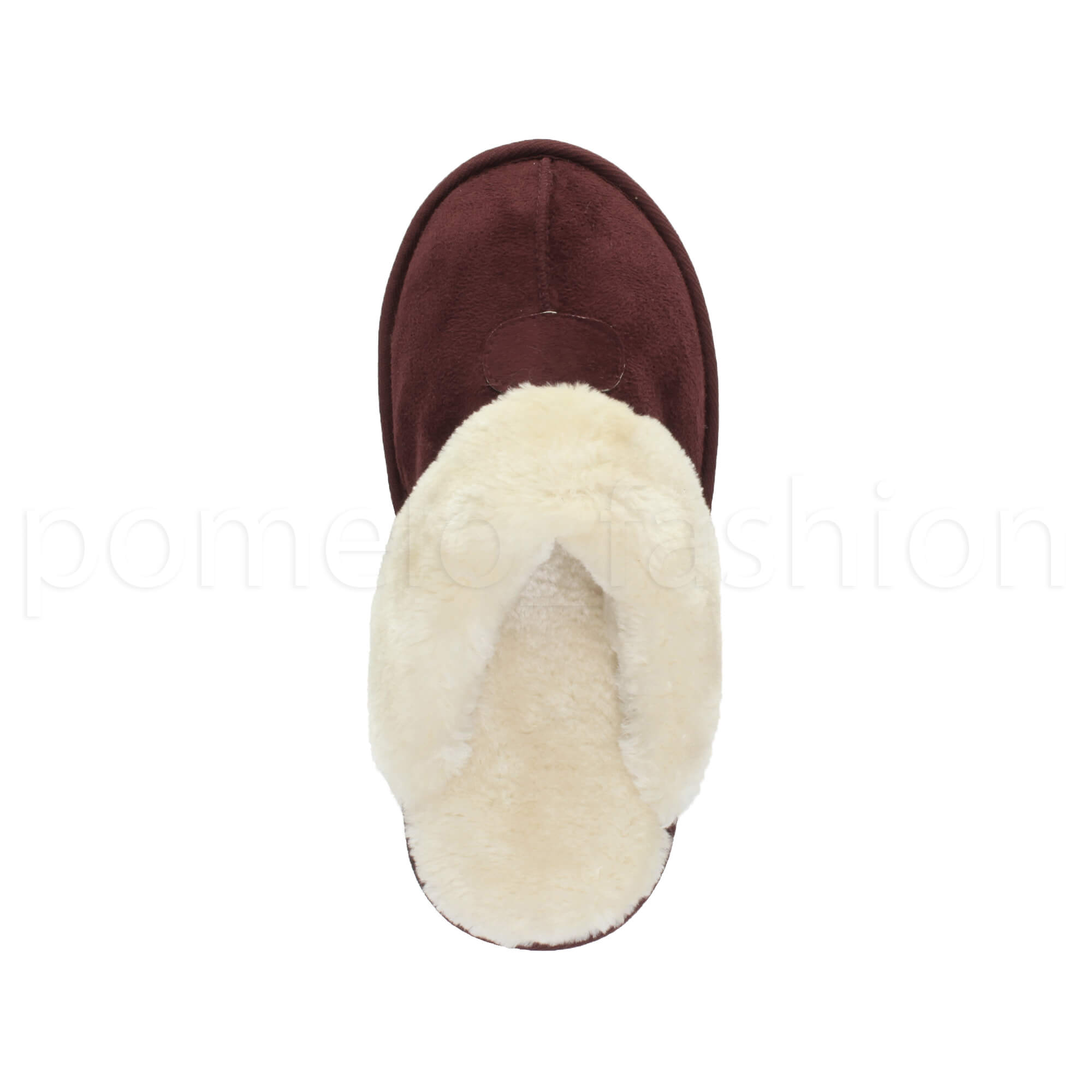 WOMENS-LADIES-FLAT-FUR-LINED-COMFORTABLE-WINTER-MULES-SLIPPERS-HOUSE-SHOES-SIZE thumbnail 41