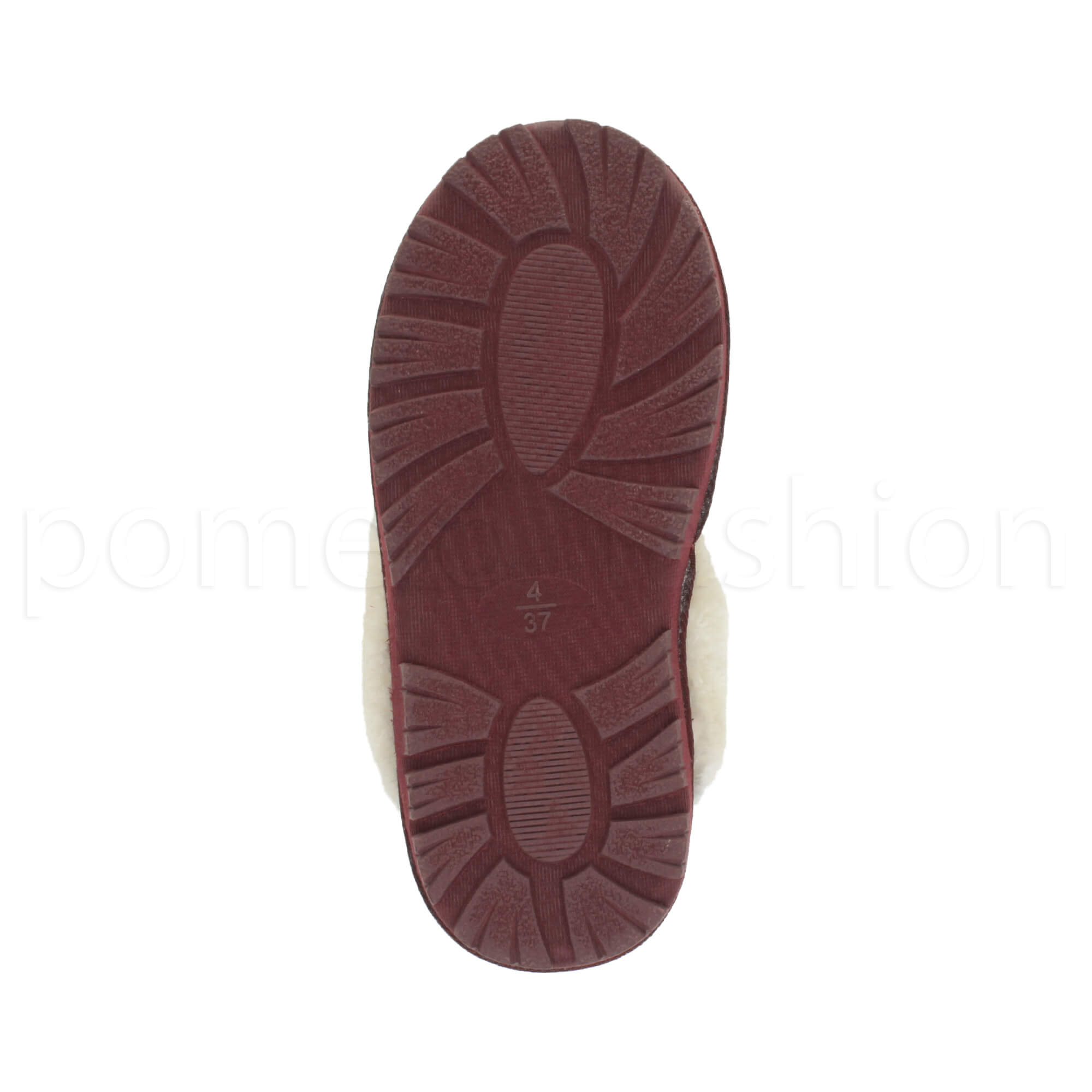 WOMENS-LADIES-FLAT-FUR-LINED-COMFORTABLE-WINTER-MULES-SLIPPERS-HOUSE-SHOES-SIZE thumbnail 43