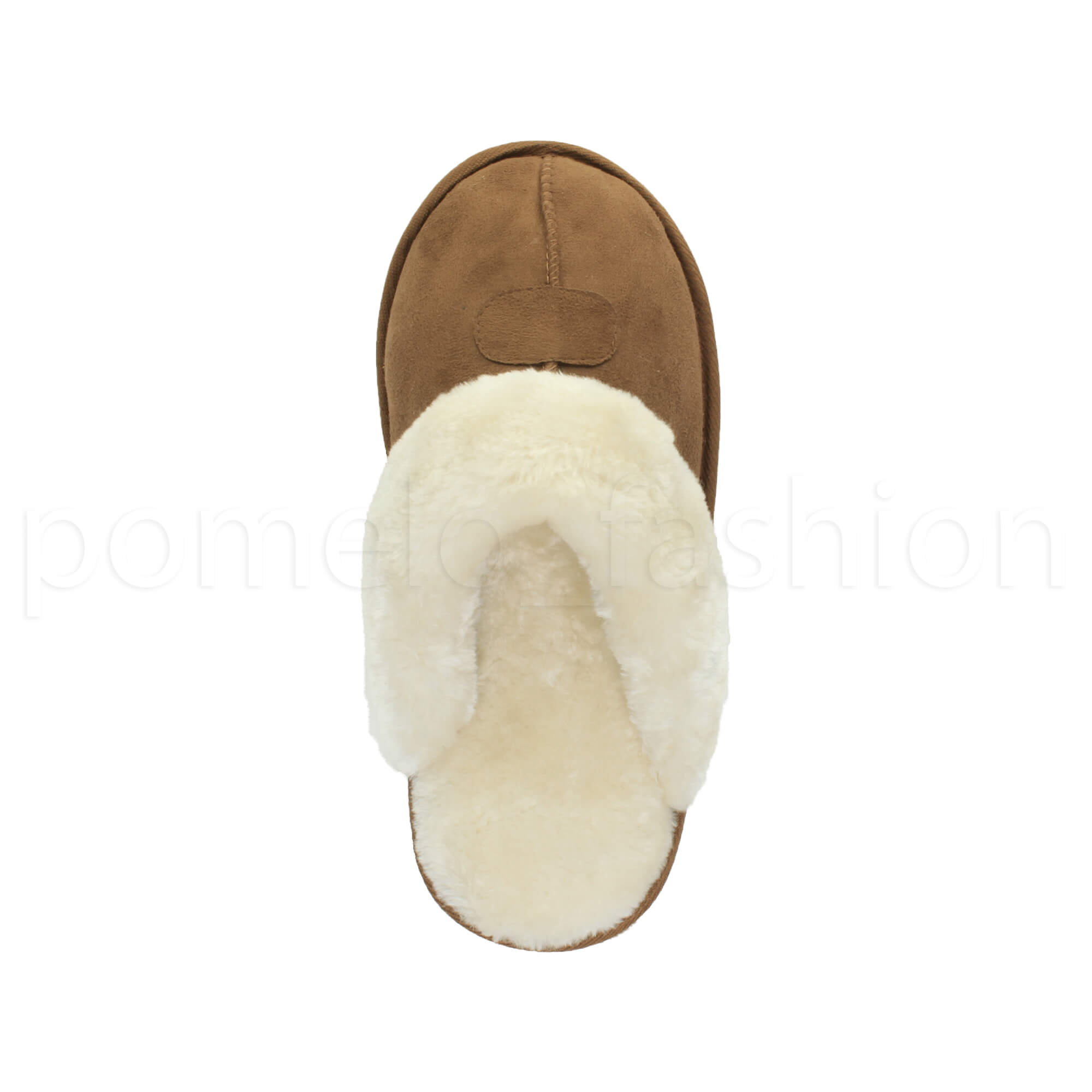 WOMENS-LADIES-FLAT-FUR-LINED-COMFORTABLE-WINTER-MULES-SLIPPERS-HOUSE-SHOES-SIZE thumbnail 48