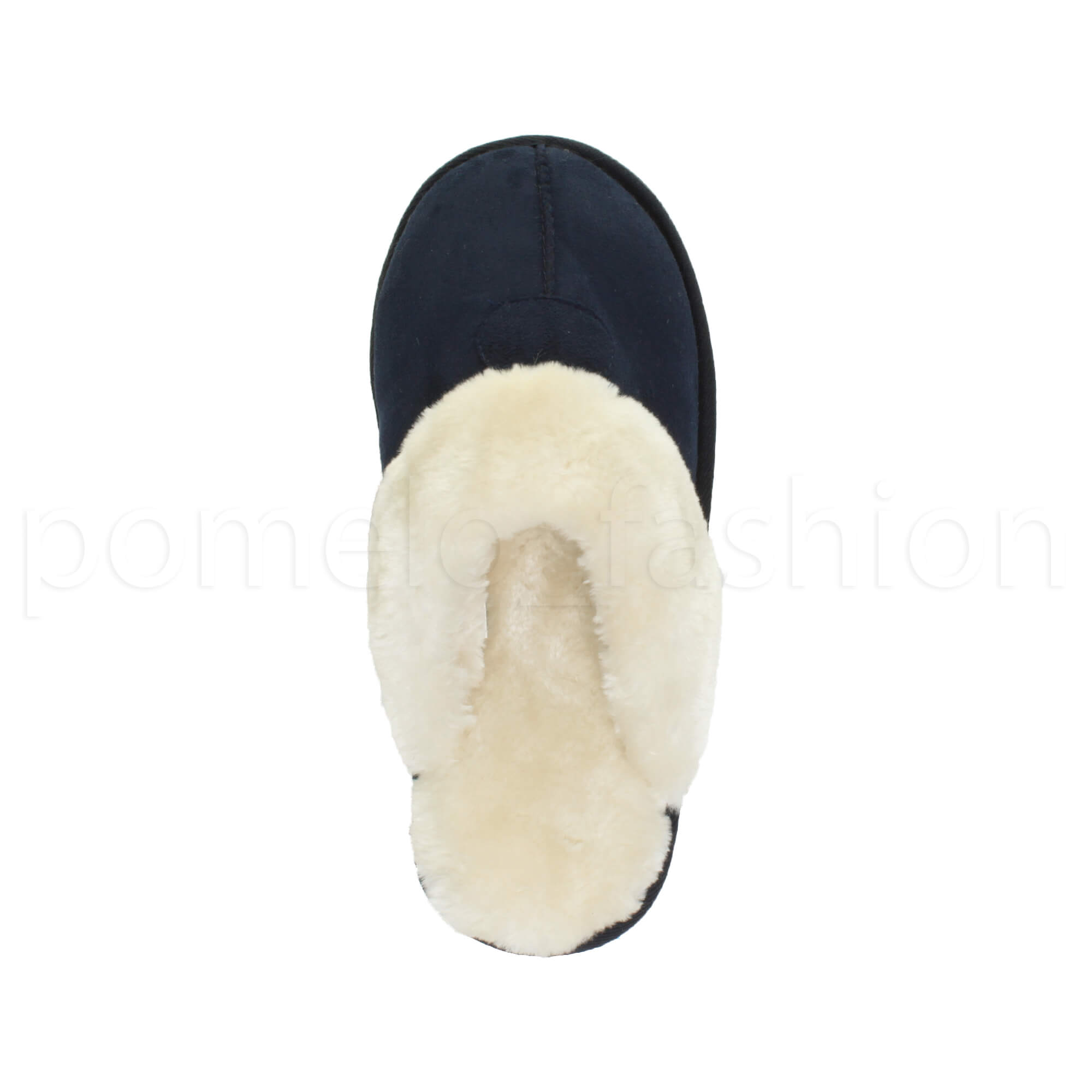 WOMENS-LADIES-FLAT-FUR-LINED-COMFORTABLE-WINTER-MULES-SLIPPERS-HOUSE-SHOES-SIZE thumbnail 62