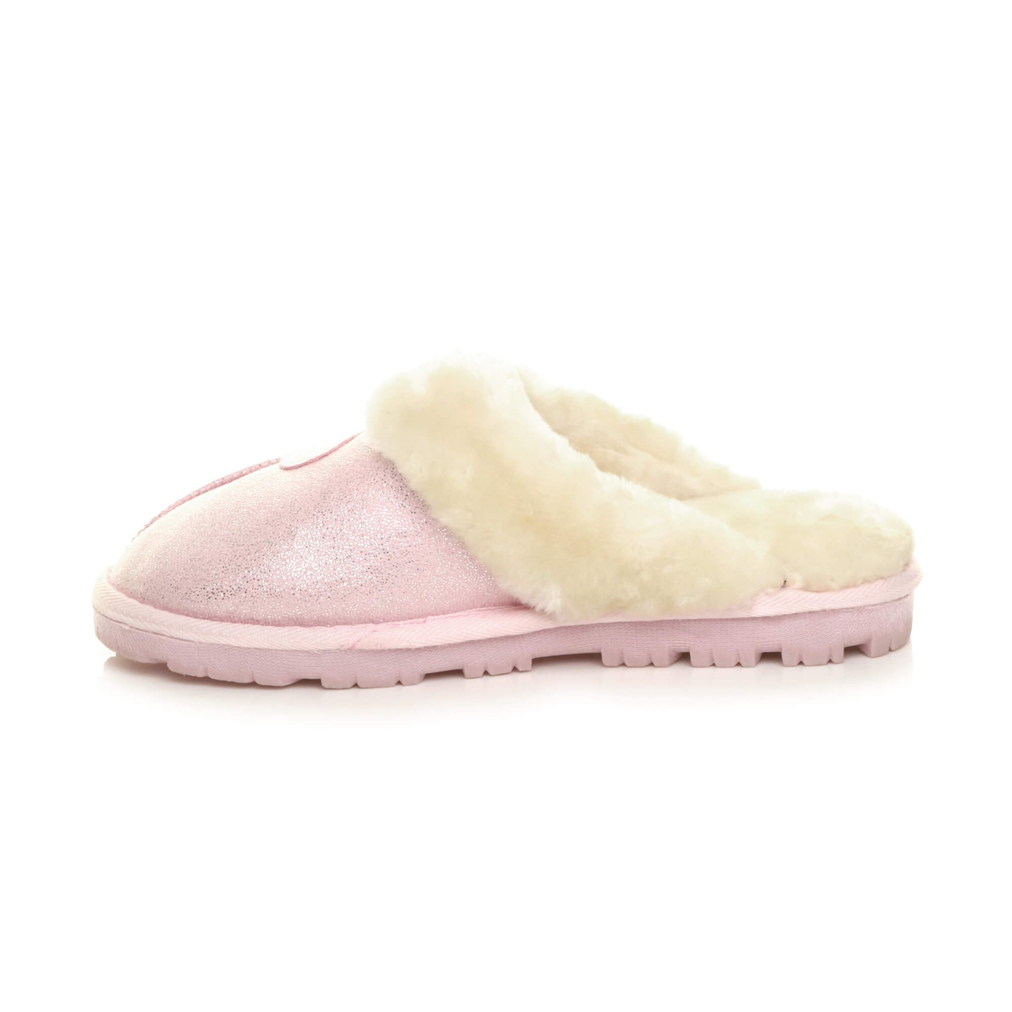 WOMENS-LADIES-FLAT-FUR-LINED-COMFORTABLE-WINTER-MULES-SLIPPERS-HOUSE-SHOES-SIZE thumbnail 81