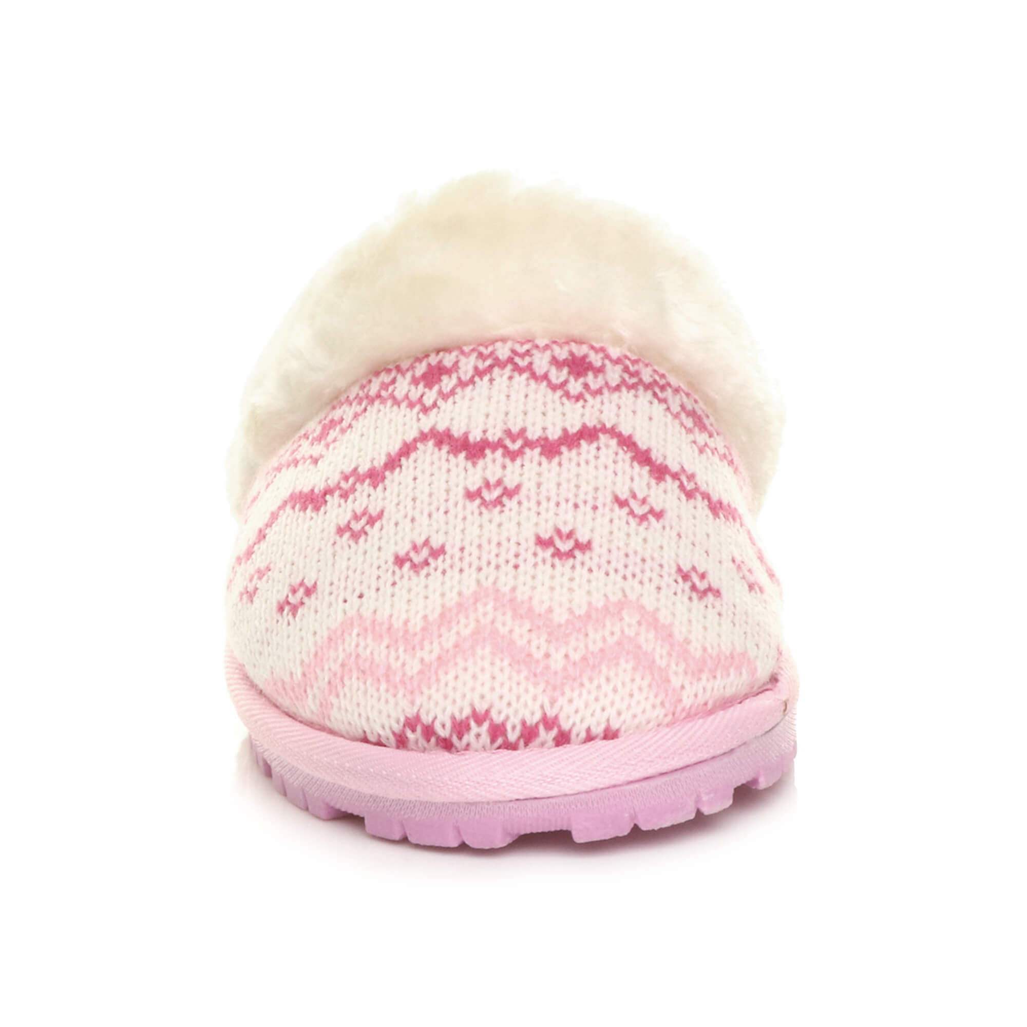 WOMENS-LADIES-FLAT-FUR-LINED-COMFORTABLE-WINTER-MULES-SLIPPERS-HOUSE-SHOES-SIZE thumbnail 77