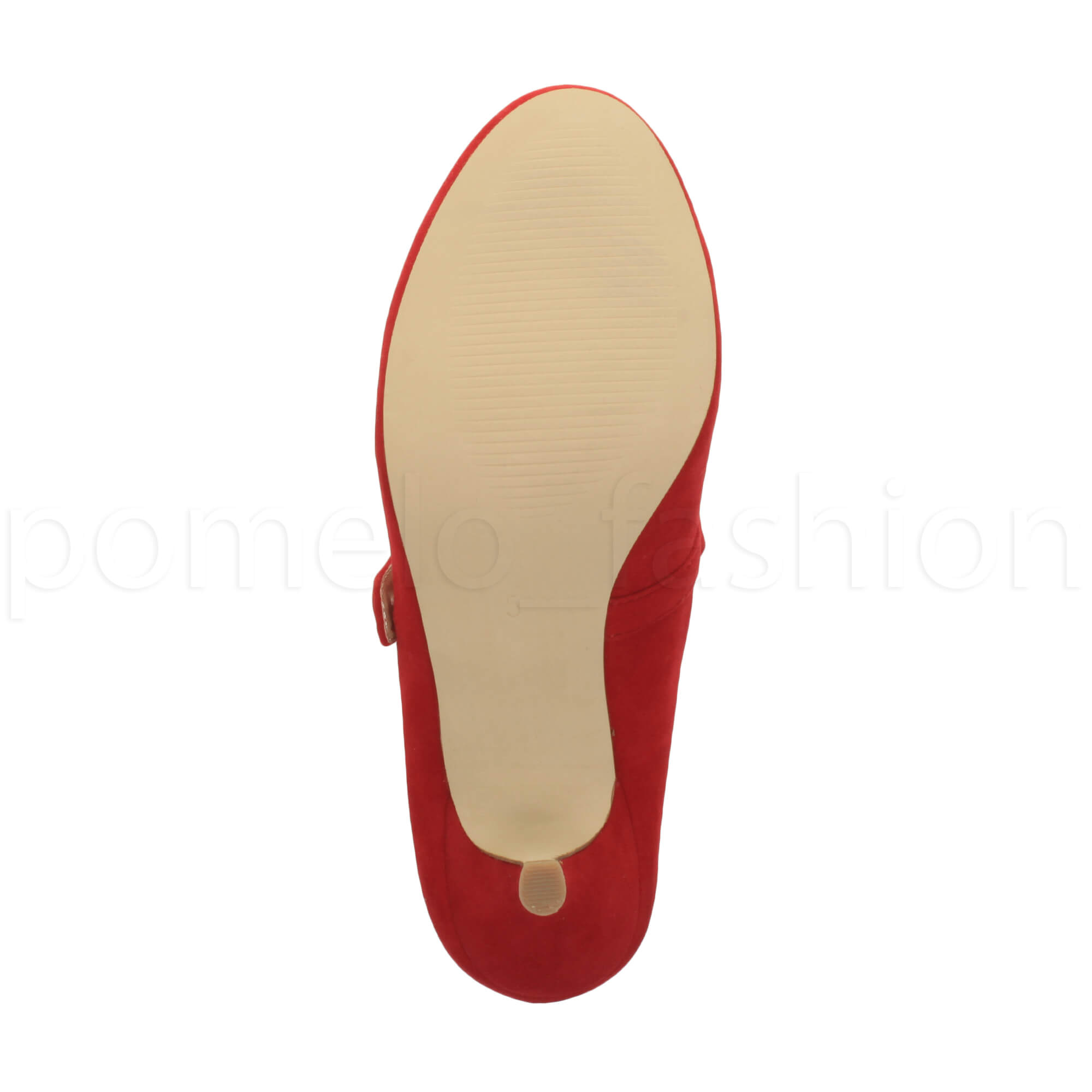 miniatura 148 - Donna basso tacco medio Mary Jane Damigella Matrimonio Pompe Scarpe Da Sera Taglia