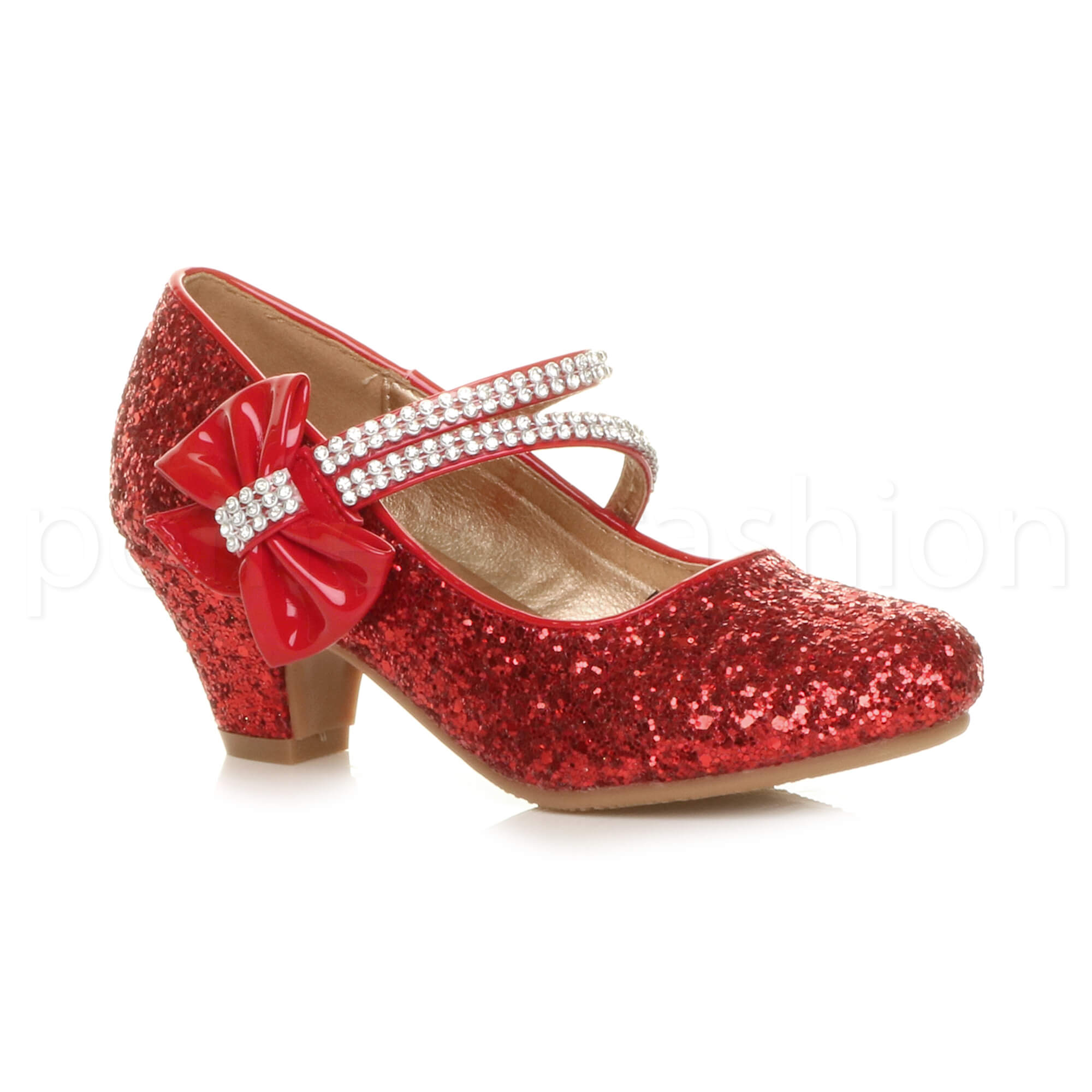 Christmas Shoes For Girls.Details About Girls Childrens Kids Party Wedding Bridesmaid Mary Jane Strap Sandals Shoes Size