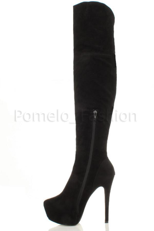 WOMENS-LADIES-HIGH-HEEL-PLATFORM-OVER-KNEE-ZIP-CLUB-POLE-DANCING-BOOTS-SIZE