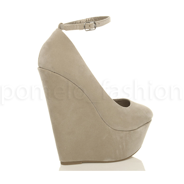 WOMENS-LADIES-HIGH-WEDGE-HEEL-PEEP-TOE-PLATFORM-SHOES-ANKLE-STRAP-SANDALS-SIZE