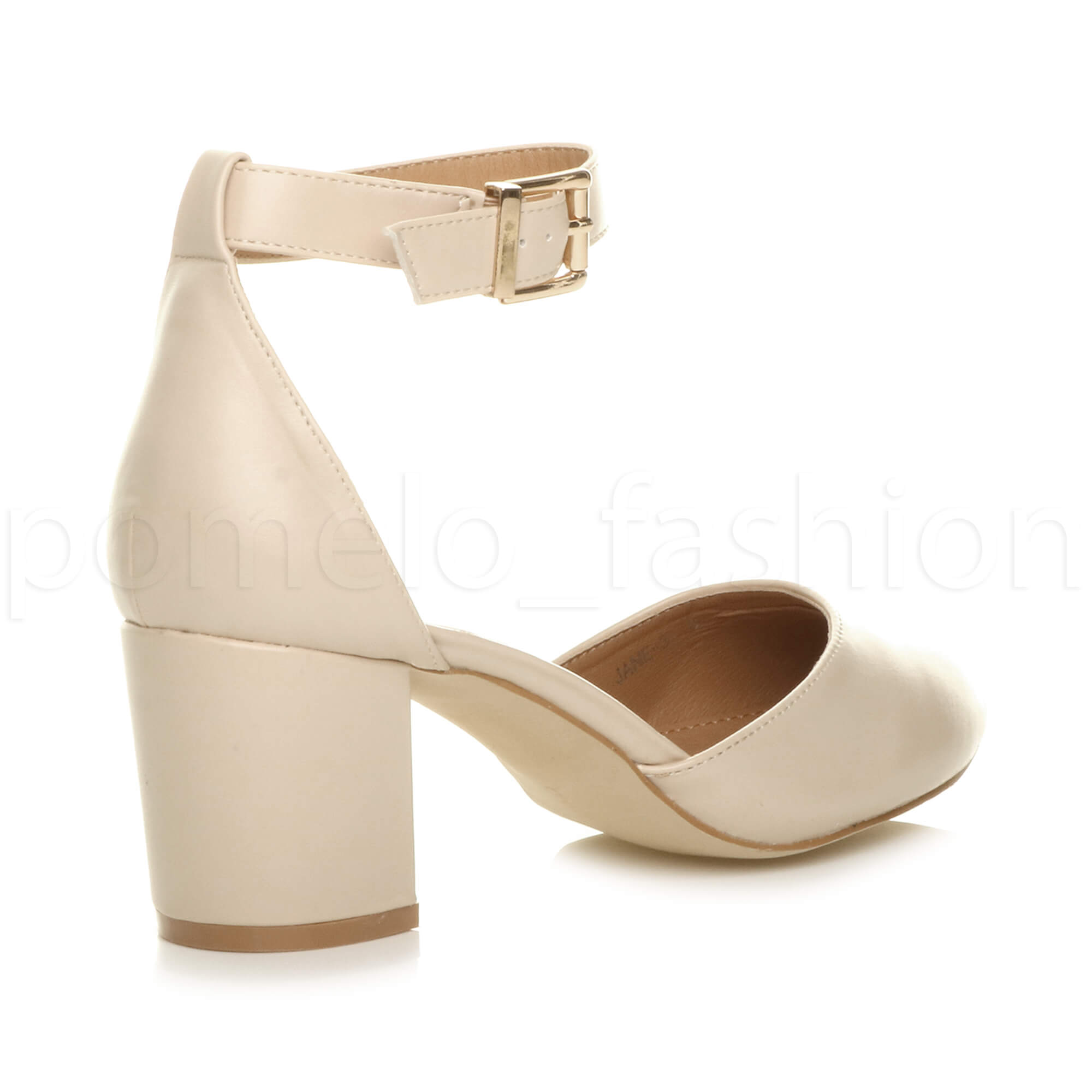 e87af7bd5 WOMENS LADIES BLOCK LOW MID HEEL ANKLE STRAP PROM EVENING SANDALS ...