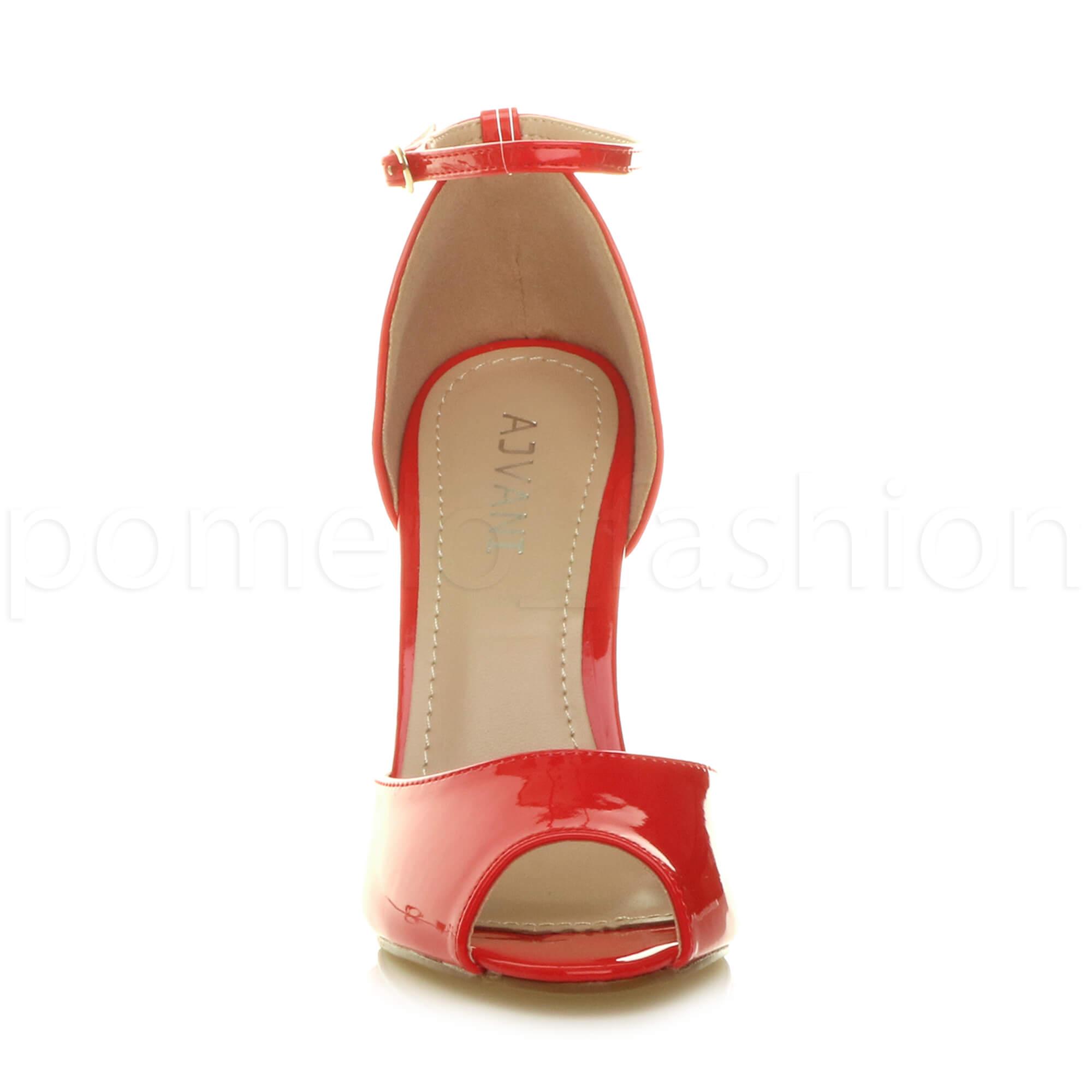 WOMENS-LADIES-HIGH-HEEL-WEDDING-BRIDESMAID-EVENING-STILETTOS-PEEP-TOE-SHOES-SIZE thumbnail 62