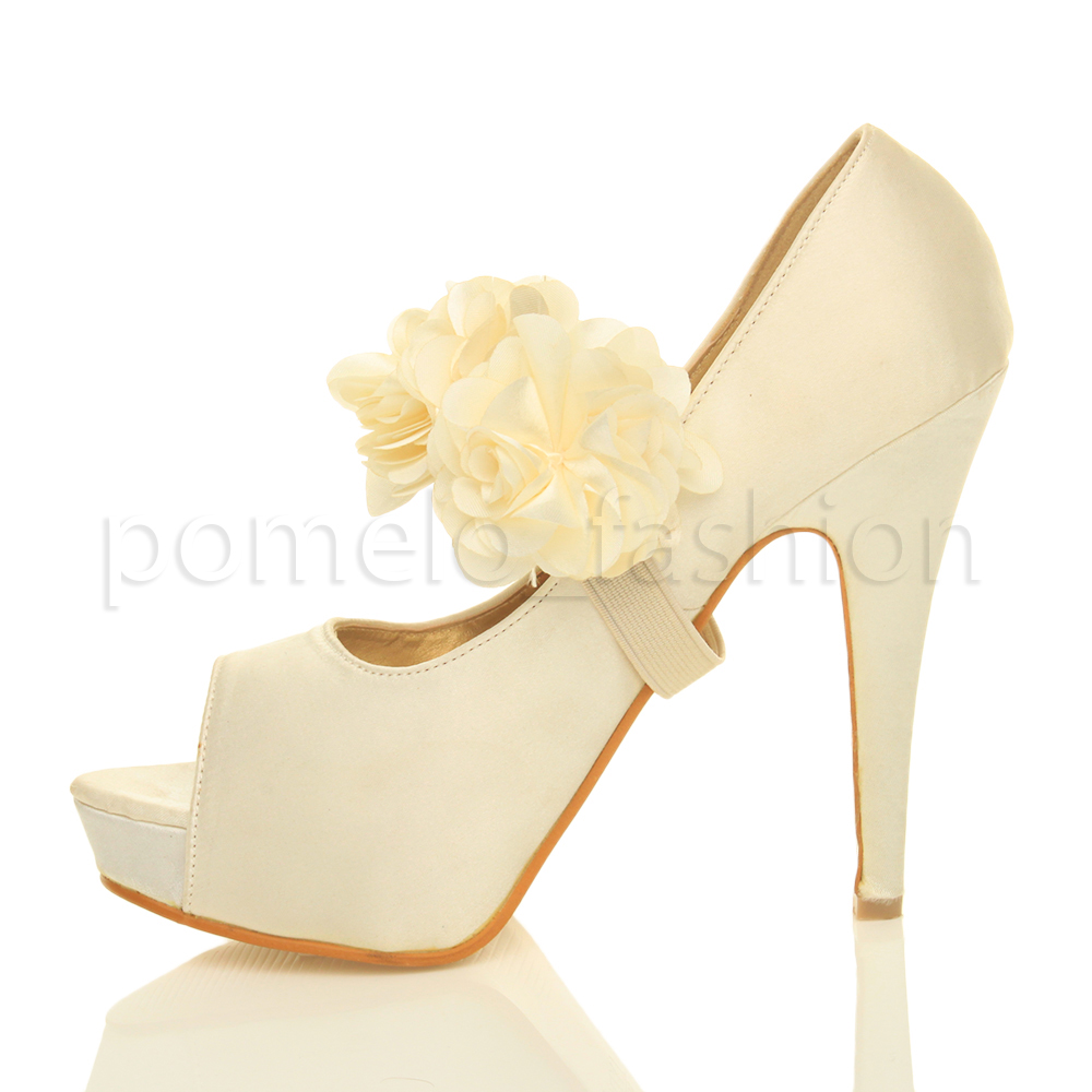 WOMENS-LADIES-EVENING-WEDDING-PROM-HIGH-HEEL-PLATFORM-PEEP-TOE-COURT-SHOES-SIZE