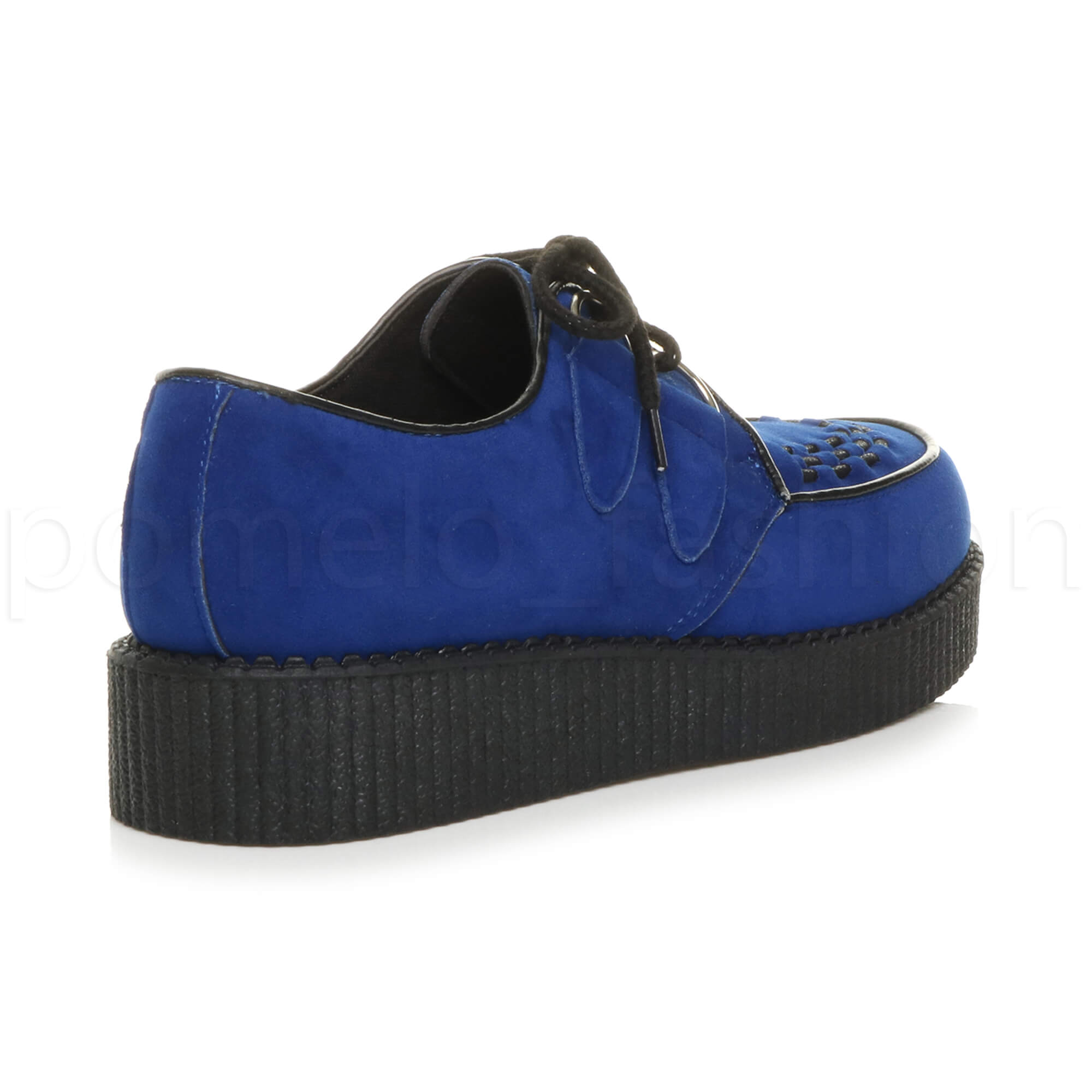 75812ff5b6d MENS GOTH PUNK ROCKABILLY BROTHEL CREEPERS VINTAGE WEDGE PLATFORM ...