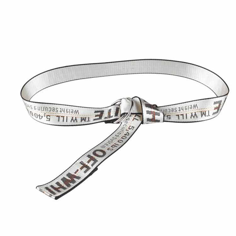 Unisex-Off-White-Yellow-Silver-Belt-Nylon-Vetements-Gosha-Rubchinskiy-140cm Indexbild 5