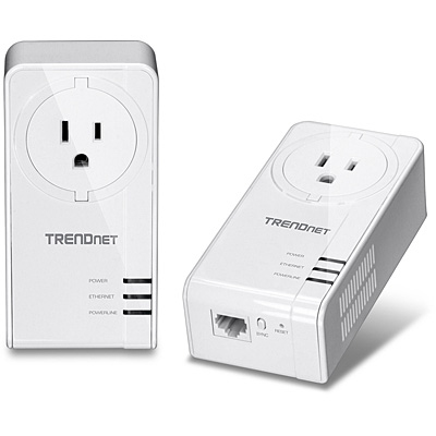Trendnet Tpl-421E Powerline Network Adapter 2 1 X Network Rj-45 464.5 M� Ar