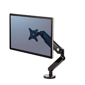 NEW! Fellowes 8043301 Platinum Series Single Monitor Arm