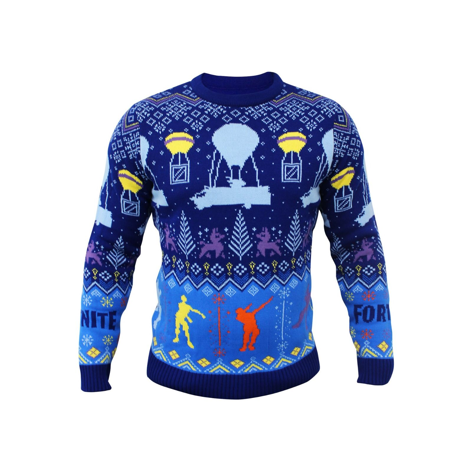 Details about NEW! Fortnite Official Christmas Xmas Jumper Sweater Kids  Small