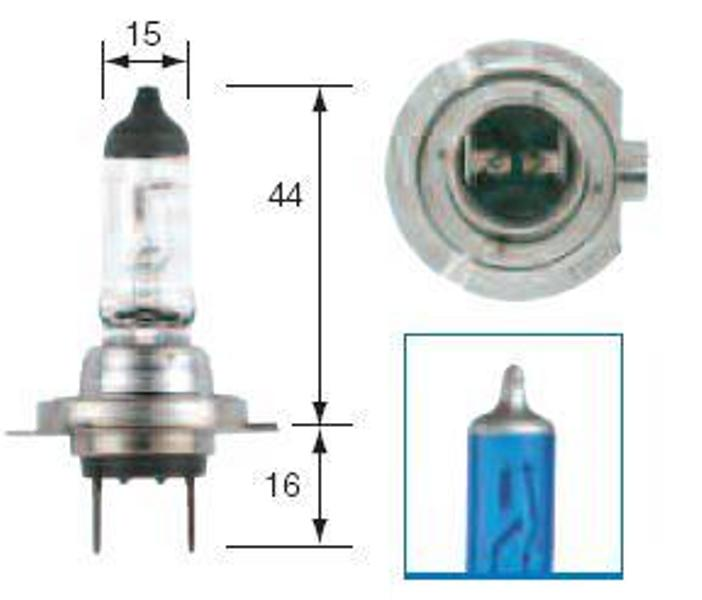 michiba h7 5000k 55w 12v halogen xenon hid headlight bulb kia high beam au ebay. Black Bedroom Furniture Sets. Home Design Ideas