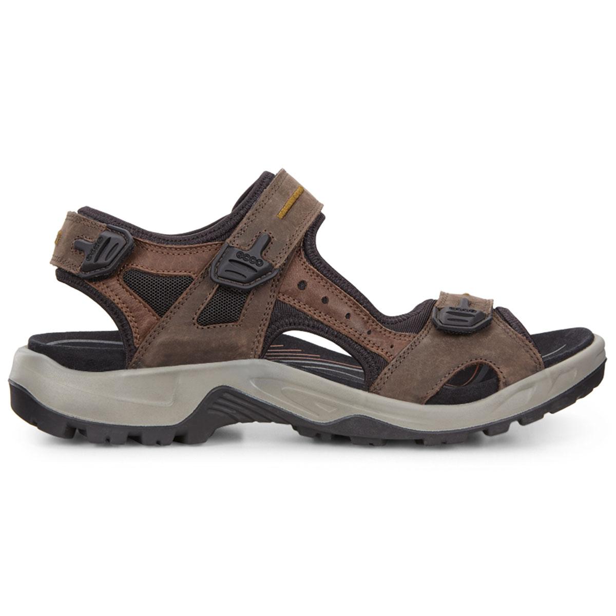 0a0056d6a7d62e ECCO 2017 Mens Offroad Walking Sandals Nubuck Leather Shoes UK 7.5 ...