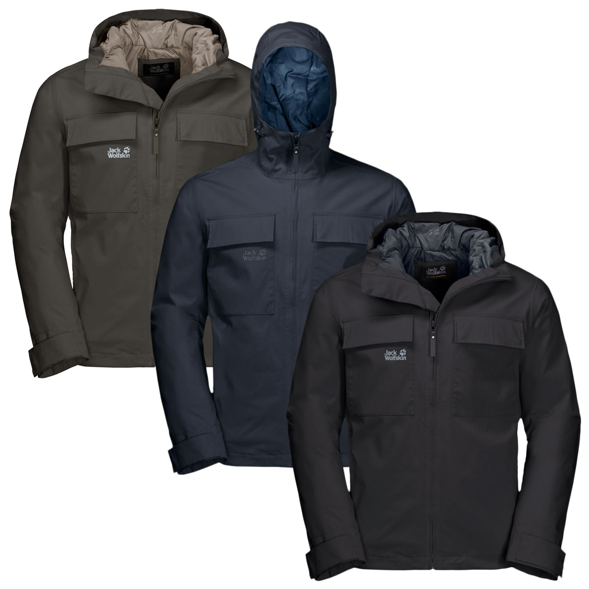JACK WOLFSKIN Waterproof Jackets | Blacks