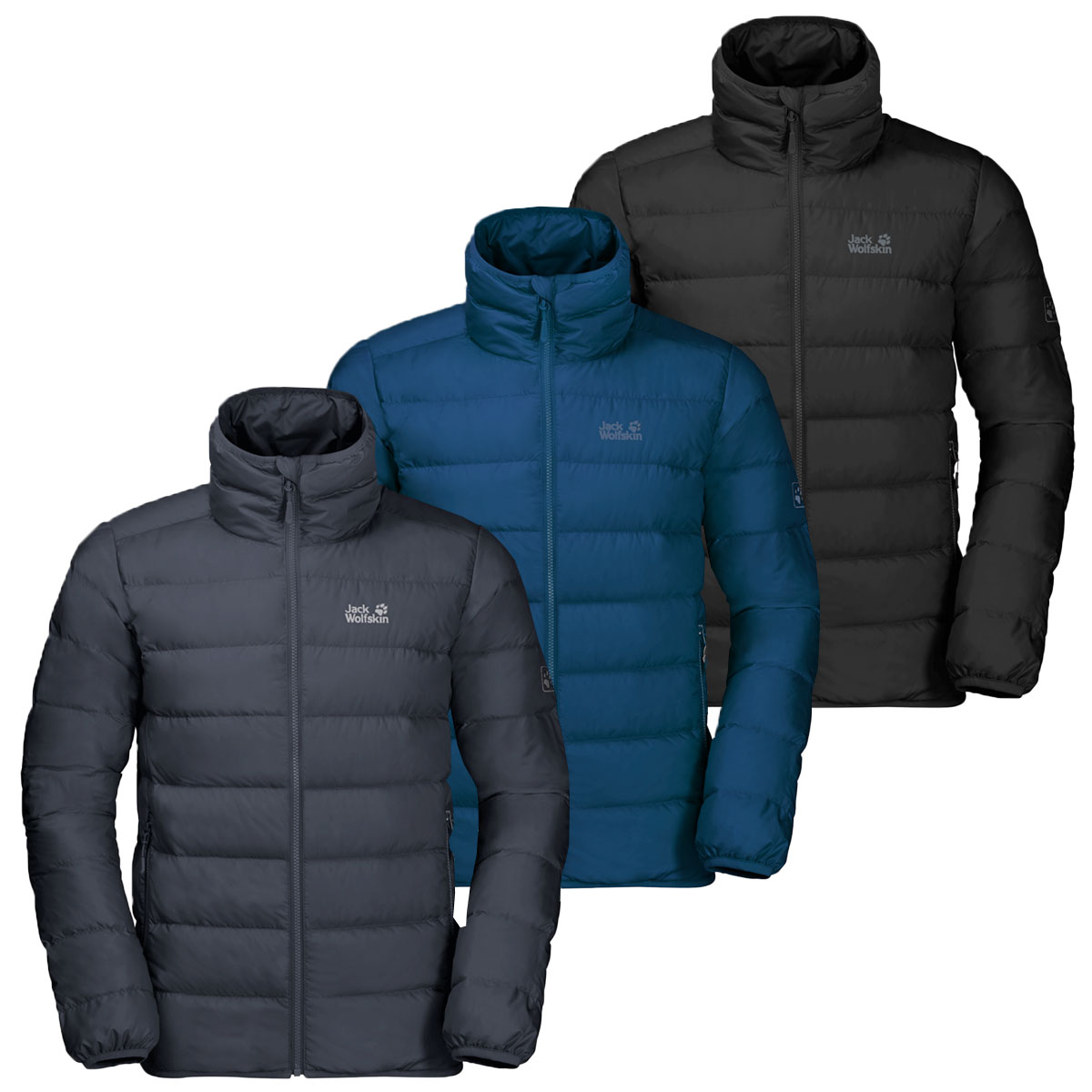 Details about Jack Wolfskin Mens Helium High Windproof Water Resistant Down Jacket Coat