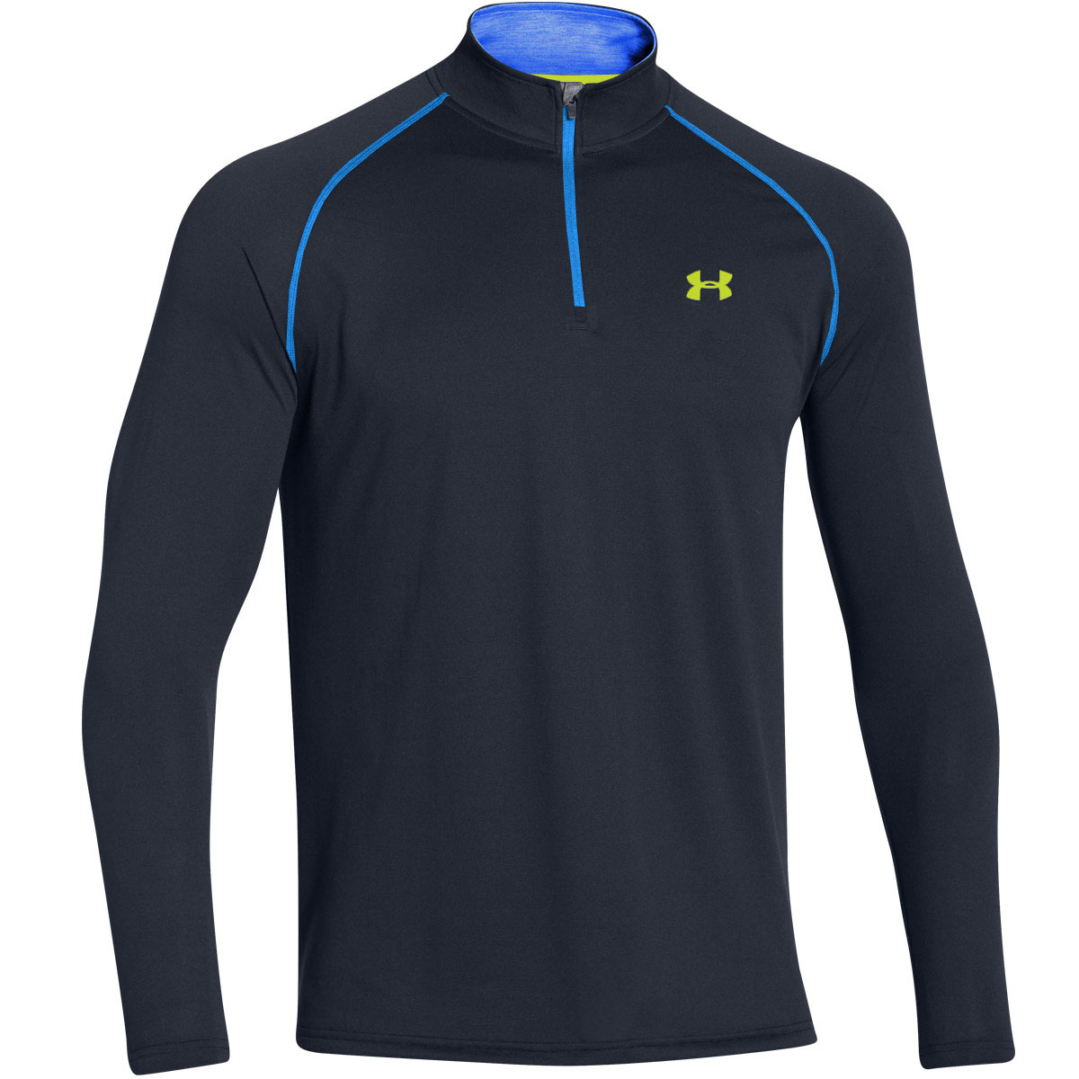 Under armour mens ua tech 1 4 zip long sleeve top gym for Mens under armour shirts