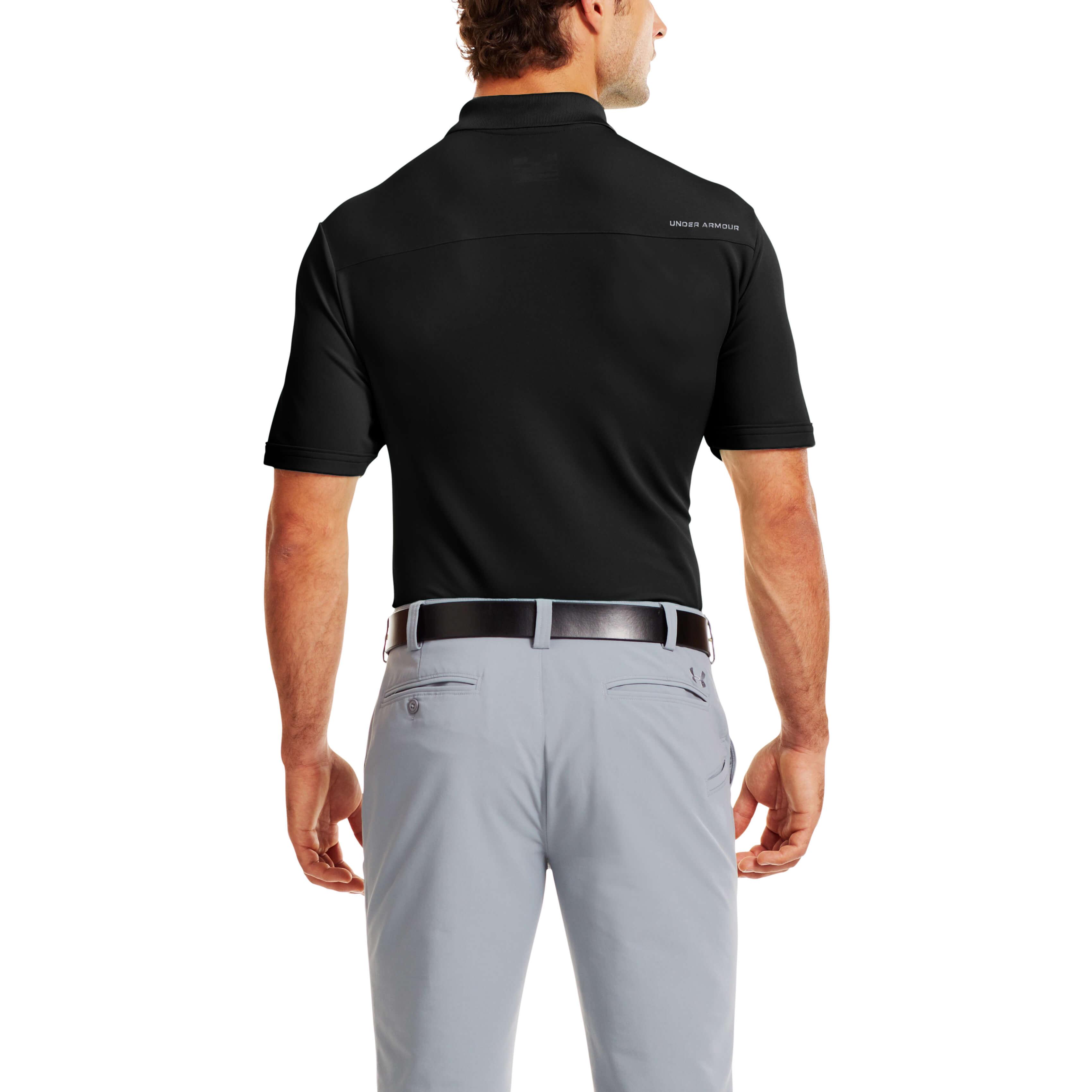 Under-Armour-Mens-Medal-Play-Performance-Polo-Shirt-UA-Golf-Short-Sleeve thumbnail 10