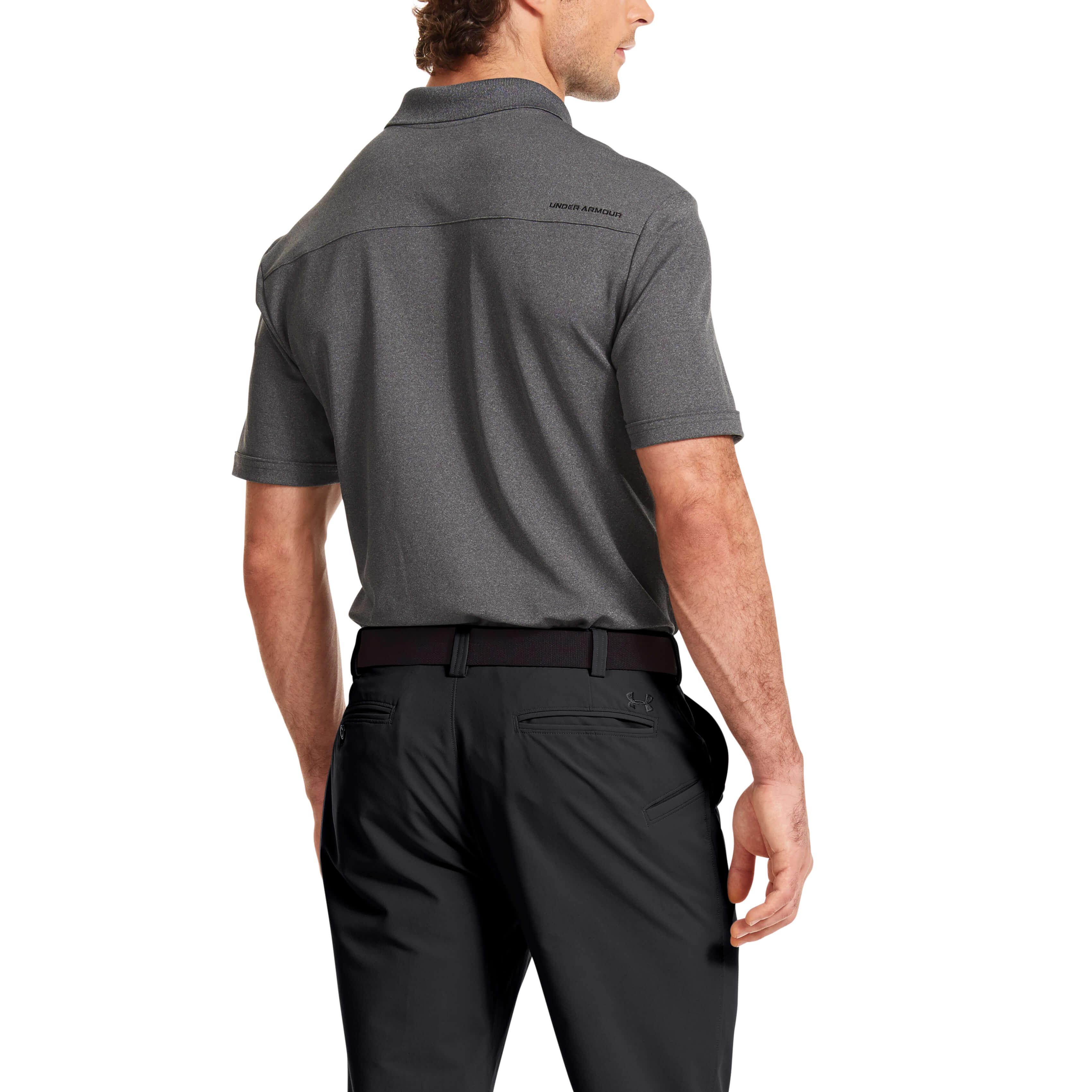 Under-Armour-Mens-Medal-Play-Performance-Polo-Shirt-UA-Golf-Short-Sleeve thumbnail 16