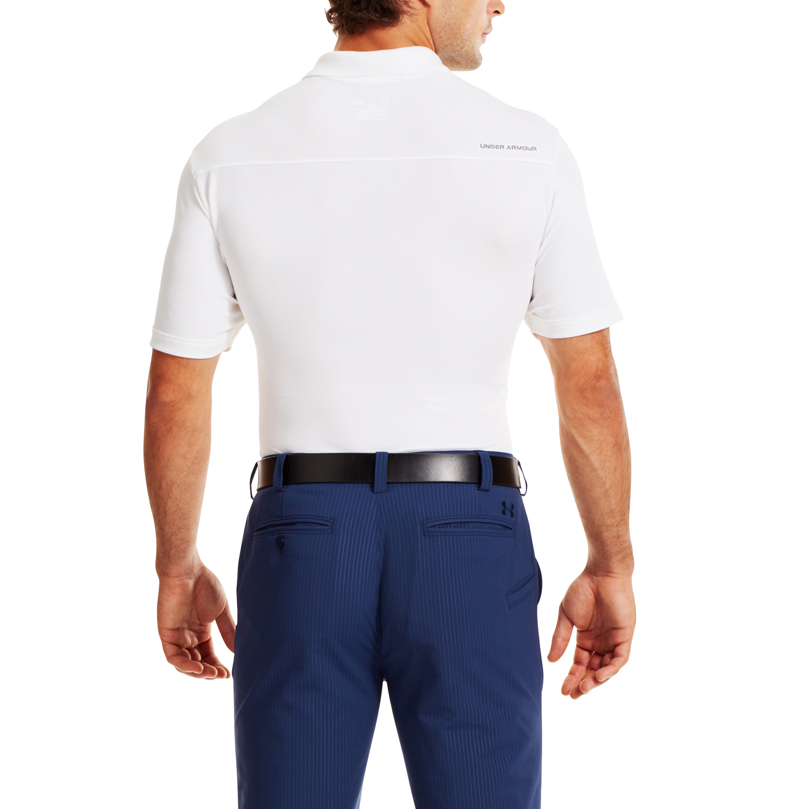 Under-Armour-Mens-Medal-Play-Performance-Polo-Shirt-UA-Golf-Short-Sleeve thumbnail 26