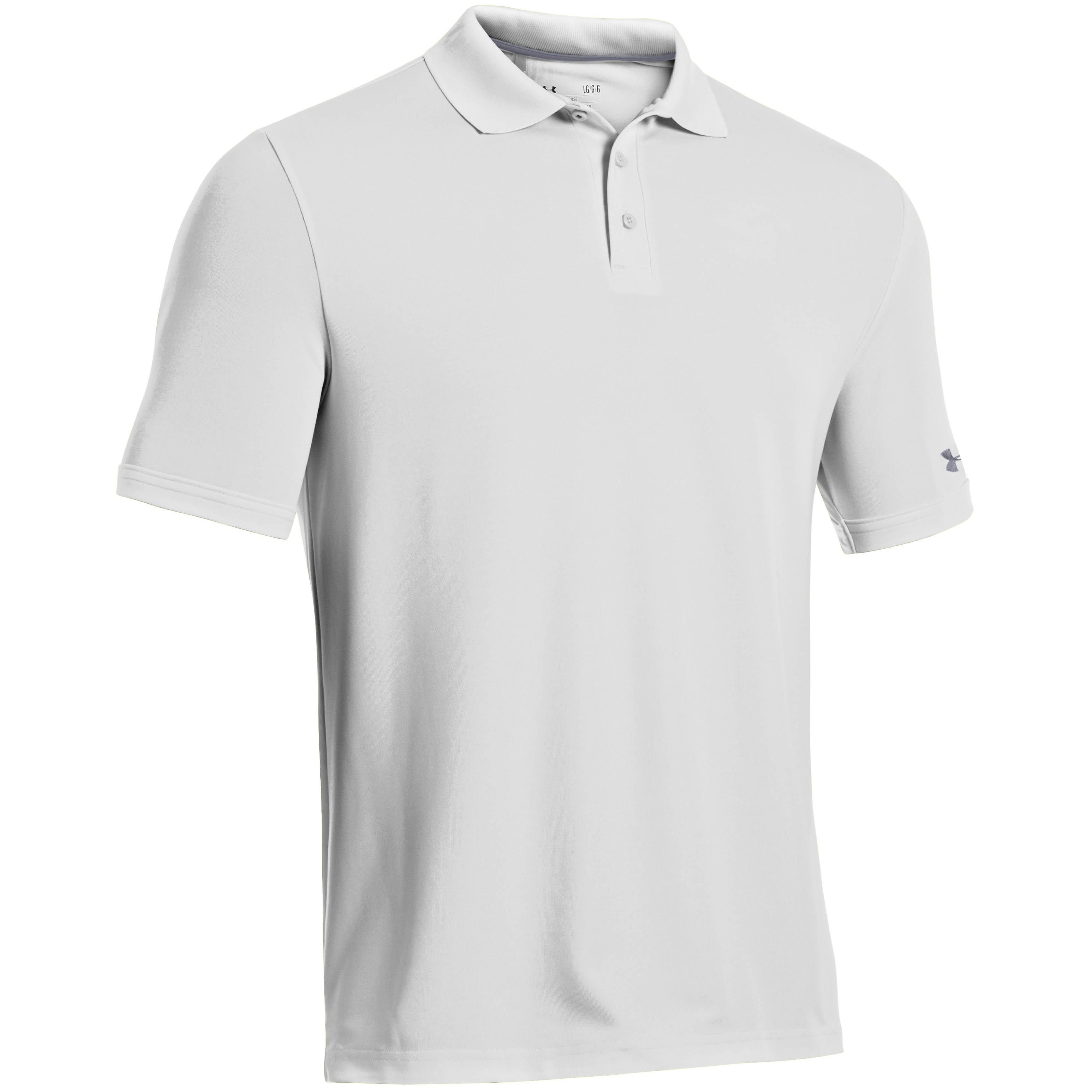 Under-Armour-Mens-Medal-Play-Performance-Polo-Shirt-UA-Golf-Short-Sleeve thumbnail 27