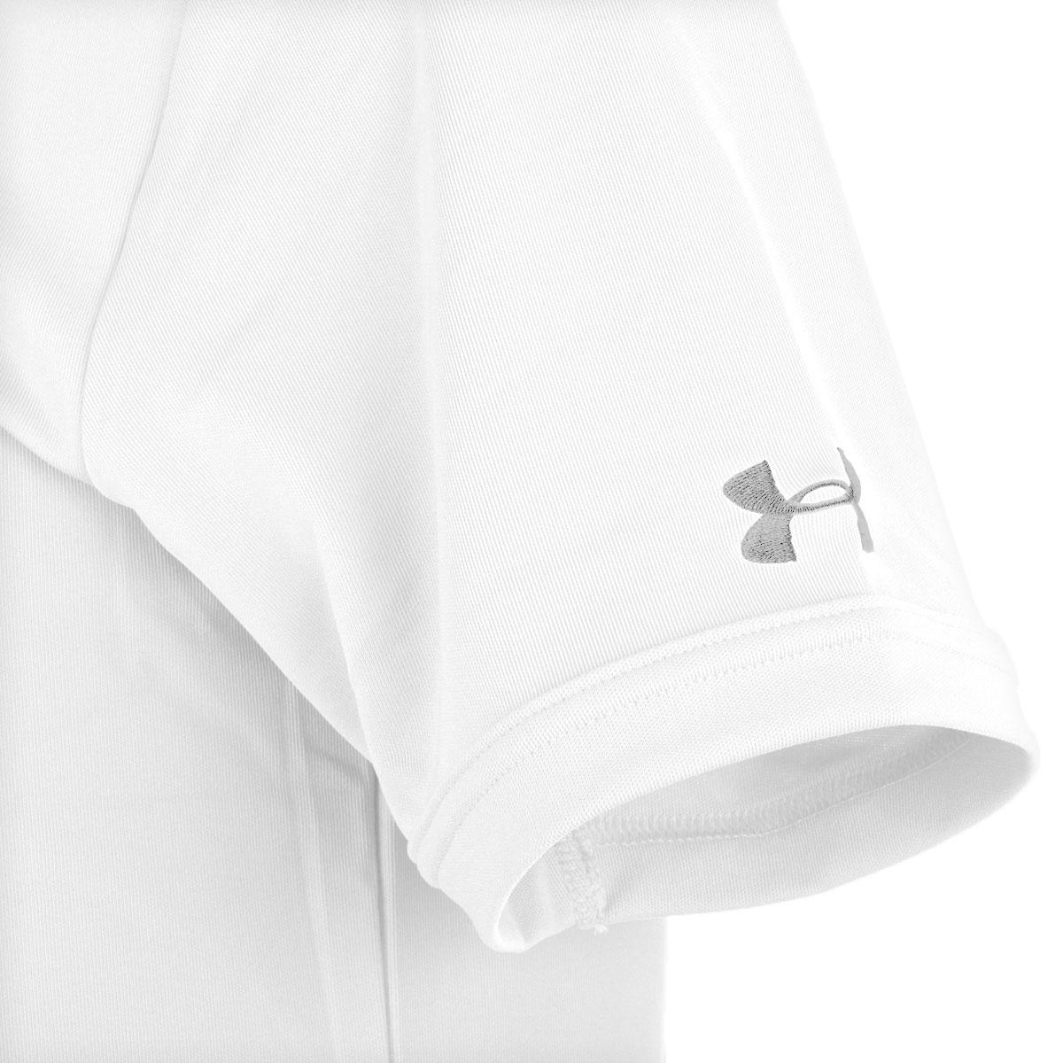 Under-Armour-Mens-Medal-Play-Performance-Polo-Shirt-UA-Golf-Short-Sleeve thumbnail 28
