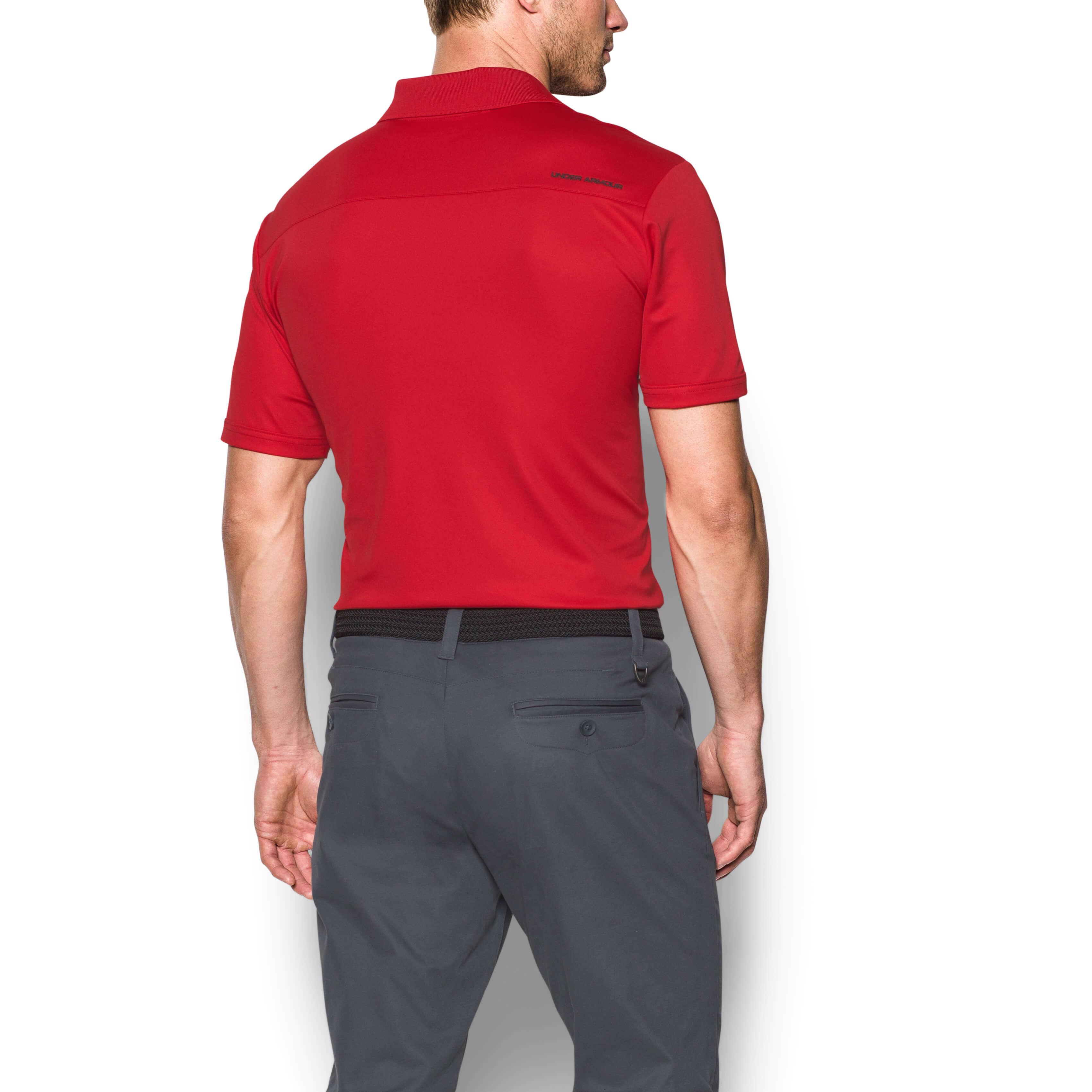 Under-Armour-Mens-Medal-Play-Performance-Polo-Shirt-UA-Golf-Short-Sleeve thumbnail 22