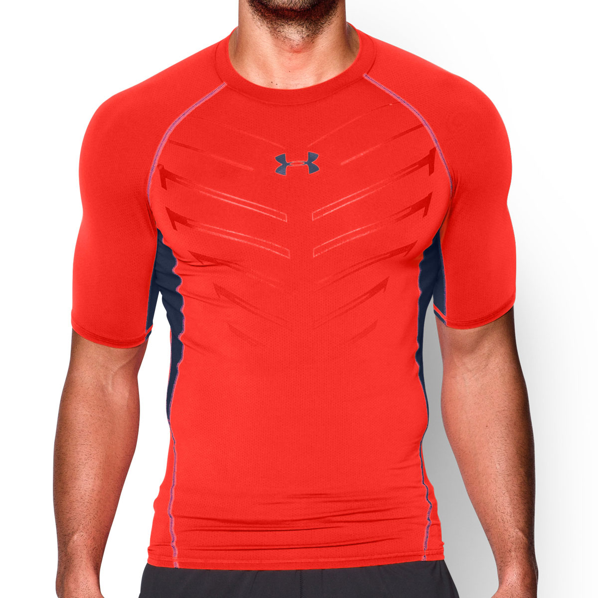 under armour mens ua heatgear armour exo short sleeve. Black Bedroom Furniture Sets. Home Design Ideas