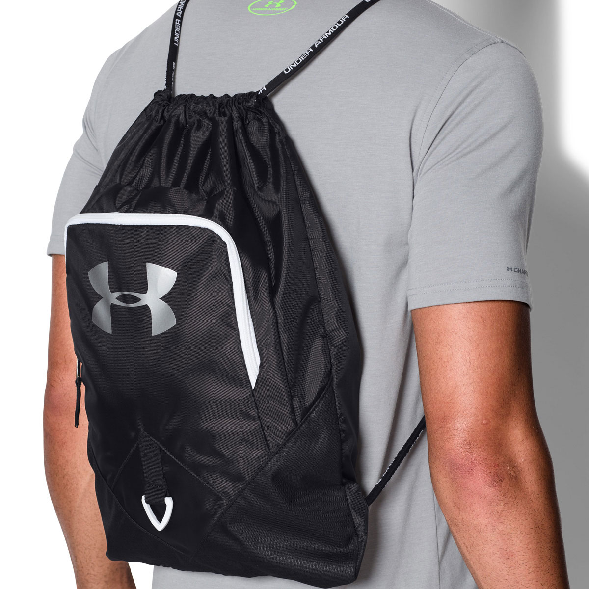 Under Armour UA Undeniable Sackpack Drawstring Rucksack Gym Bag 57 ... efc52d8089bd0