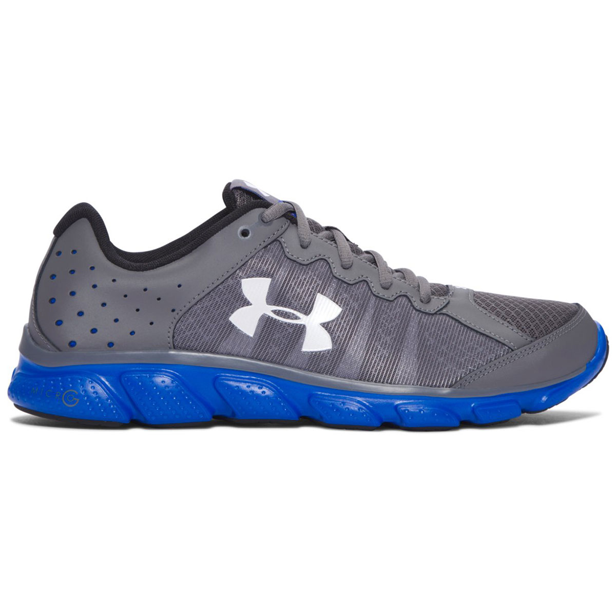d78427a95bf6 Under Armour Mens UA Micro G Assert 6 Running Trainers 1266224 Shoes ...