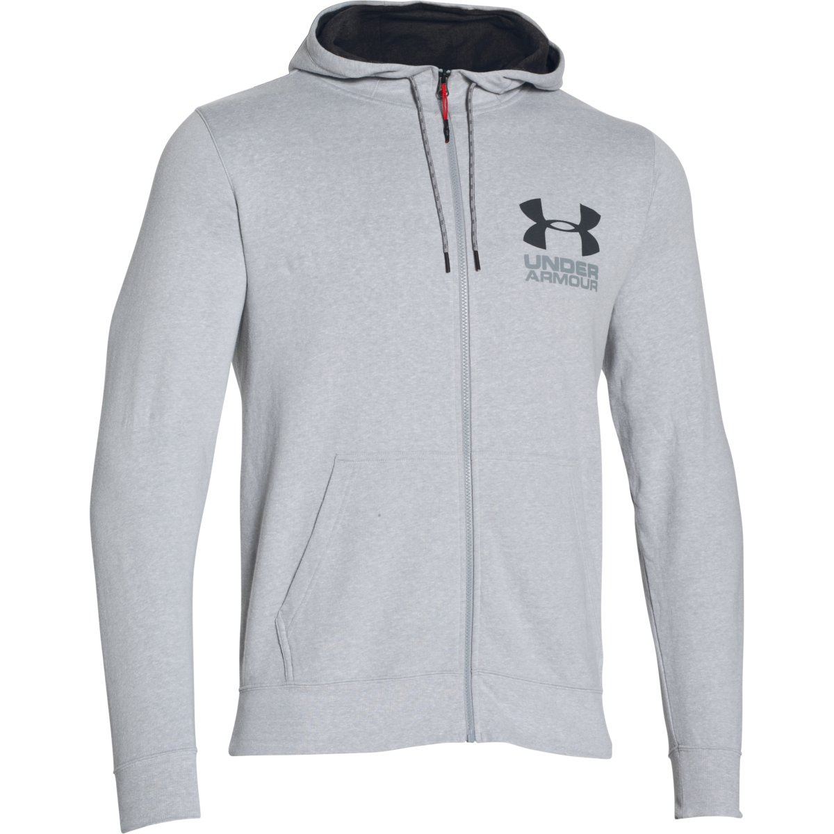 under armour zip up. under-armour-2017-mens-ua-tri-blend-fleece- under armour zip up