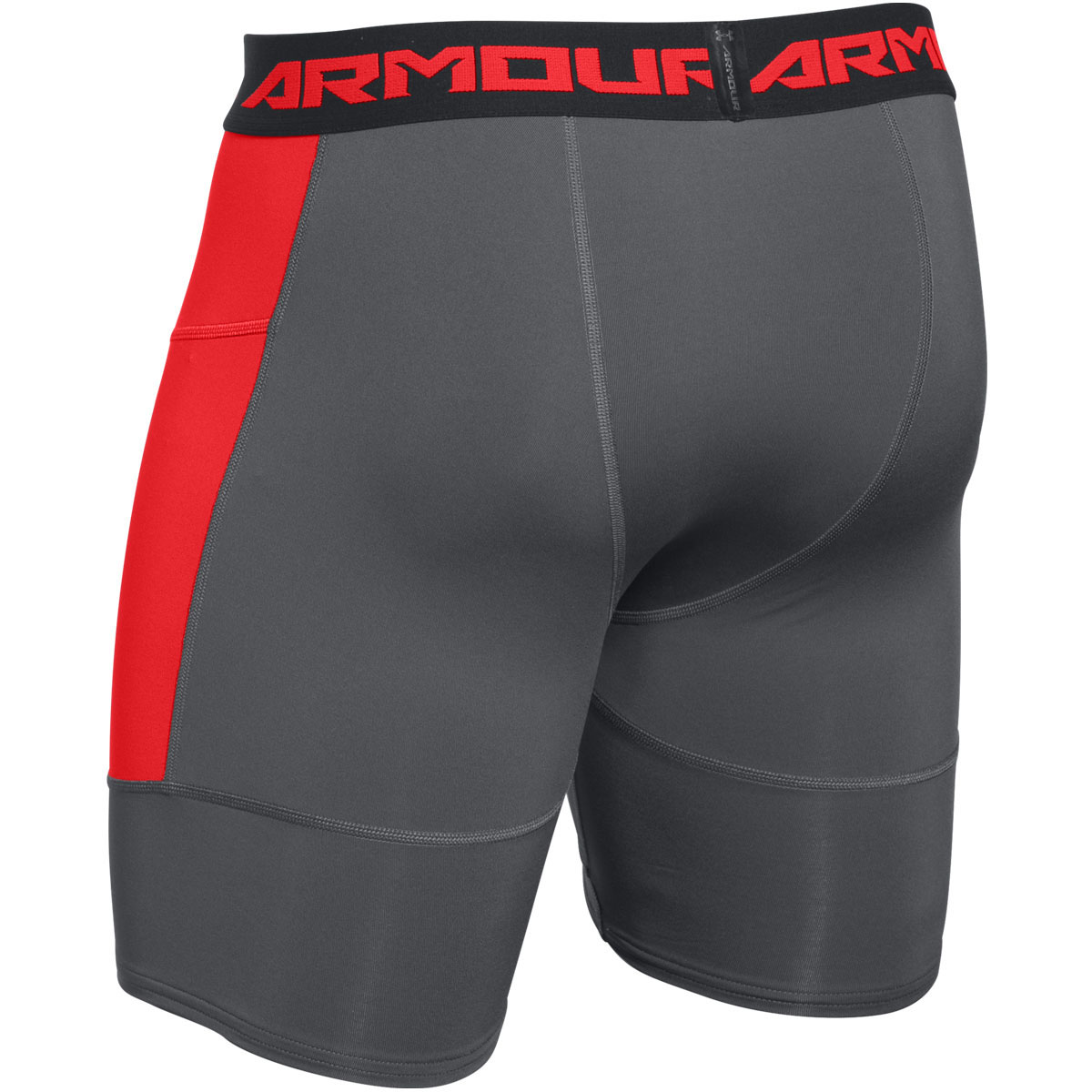 Under Armour 2016 Mens HeatGear Scope Media Pocket ...Compression Shorts For Men Under Armour