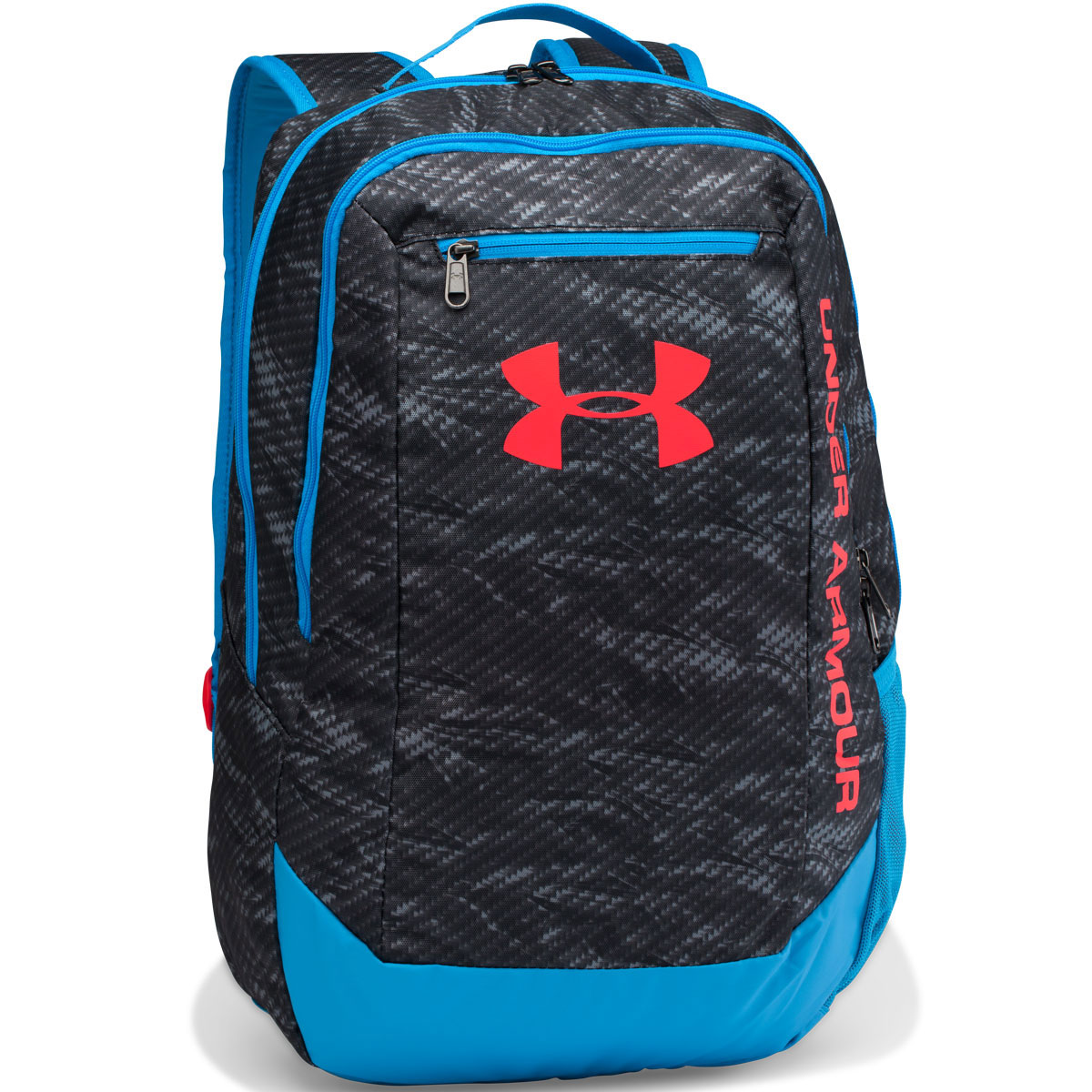 under armour ua hustle backpack ldwr rucksack school gym. Black Bedroom Furniture Sets. Home Design Ideas