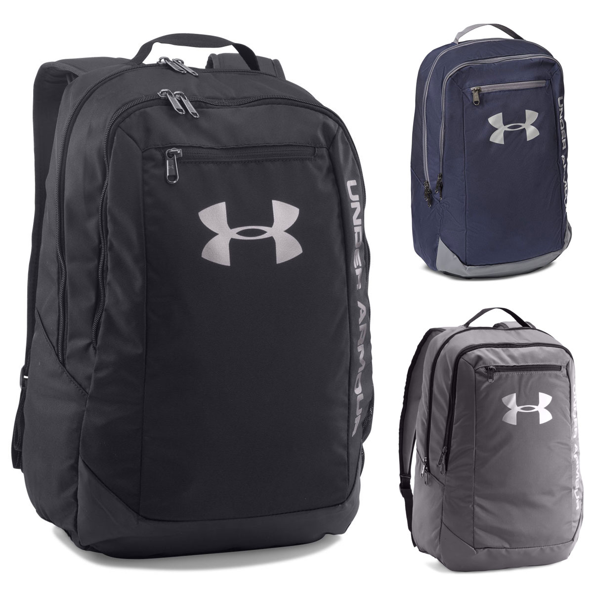 e6ff6b10f8 Details about Under Armour 2019 UA Hustle Backpack LDWR Rucksack School Gym  Bag