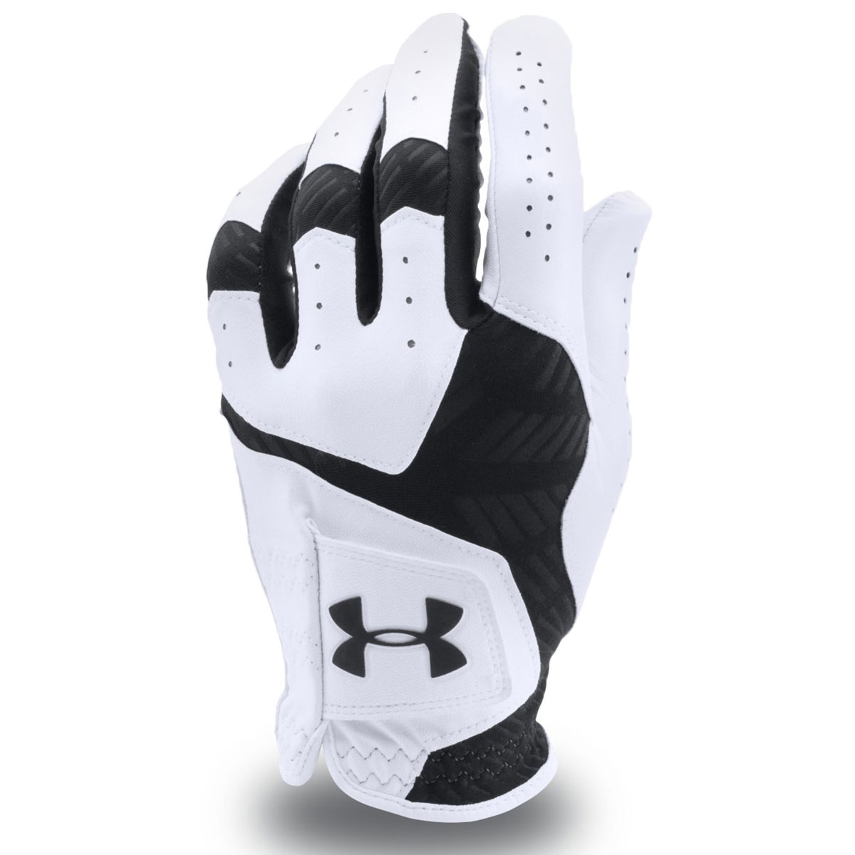 under armour mens ua coolswitch leather golf glove left hand mlh ebay. Black Bedroom Furniture Sets. Home Design Ideas