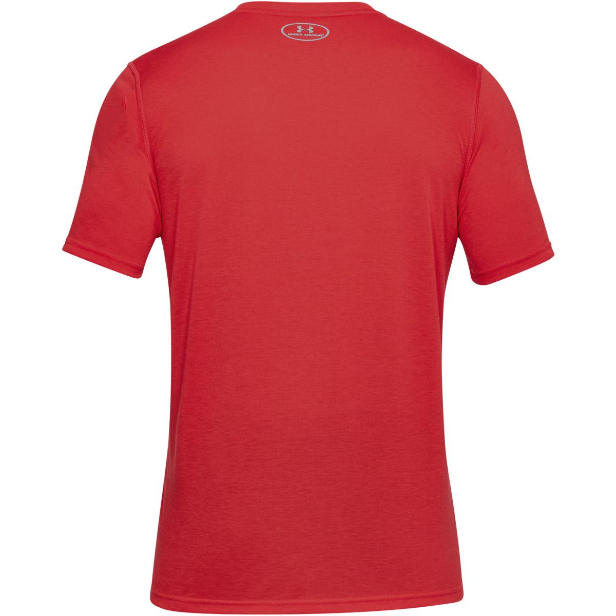 Under-Armour-Mens-UA-Threadborne-Fitted-Short-Sleeve-Gym-Tee-Sport-T-Shirt thumbnail 30
