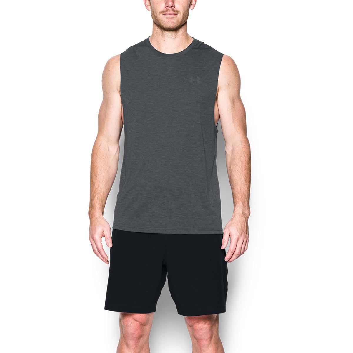 b4c6943958b86 Under Armour Mens UA Threadborne Muscle Tank Sports Gym Vest 27% OFF ...